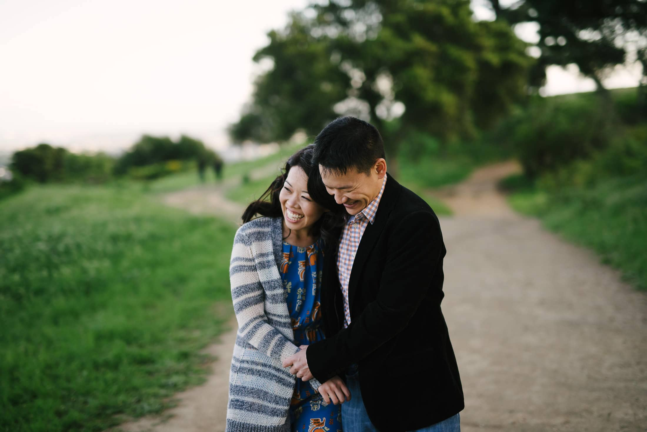Engagement session in the Berkeley Hills
