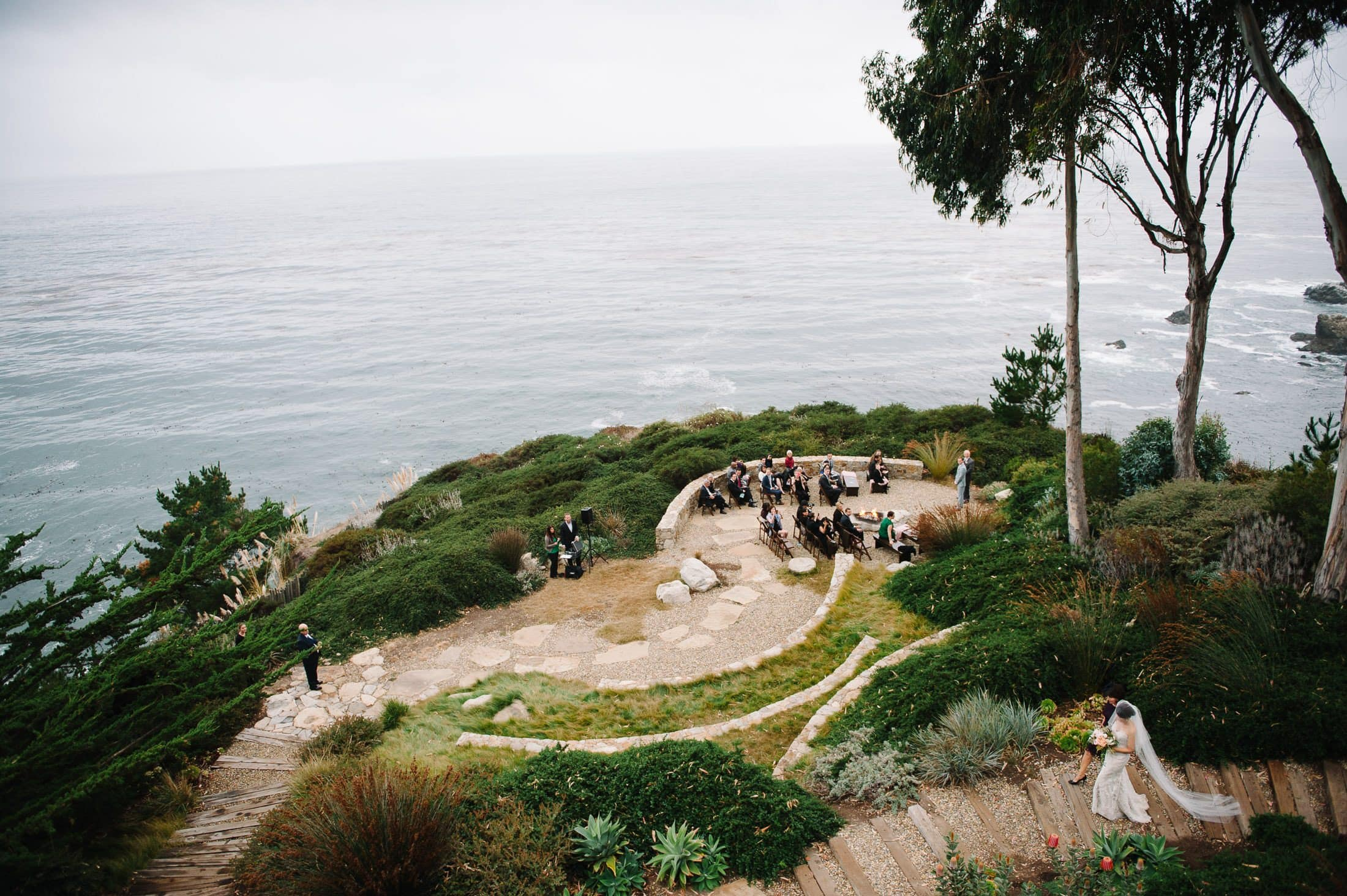 Ceremony at Wind and Sea Wedding