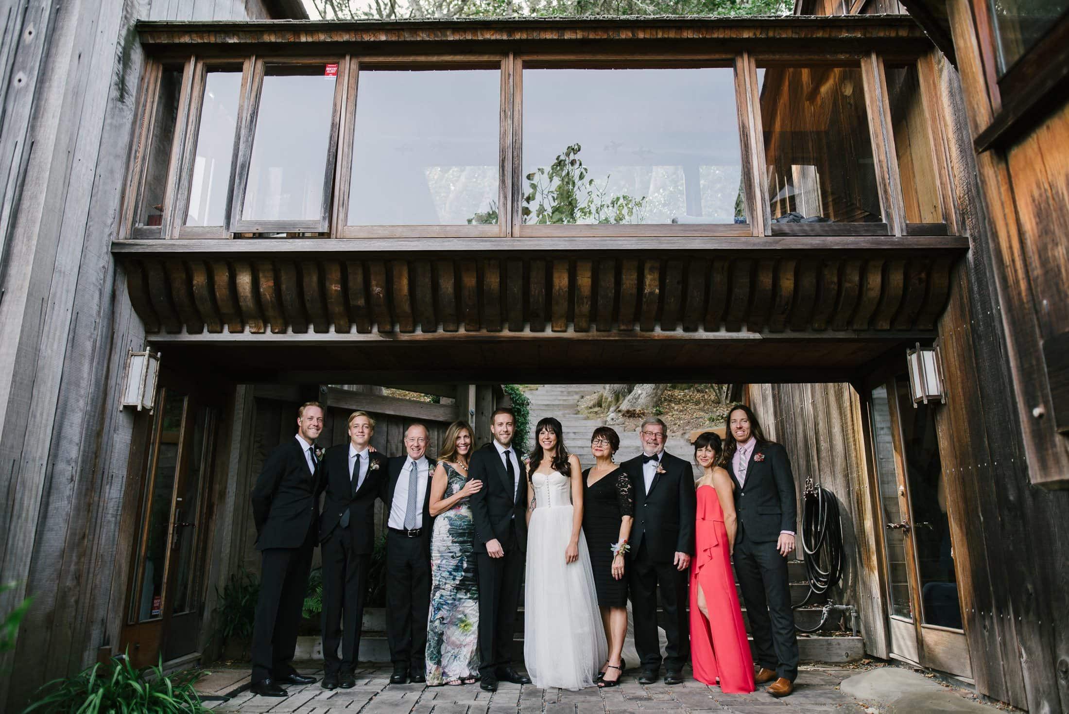 bolinas wedding family