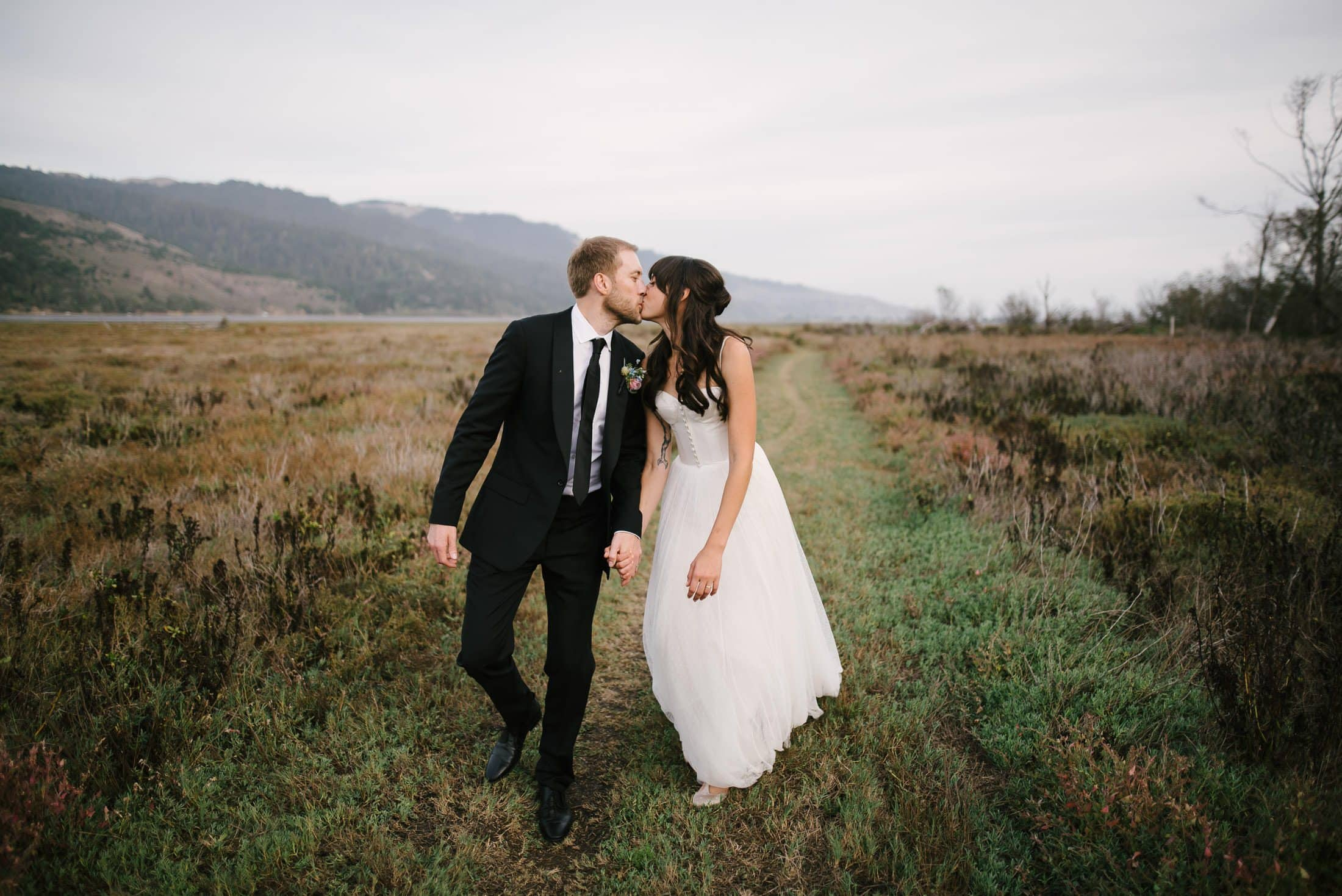 bolinas wedding portrait