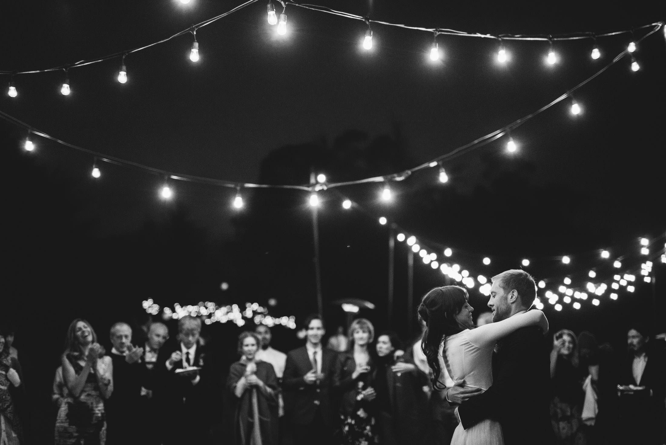 bolinas wedding first dance