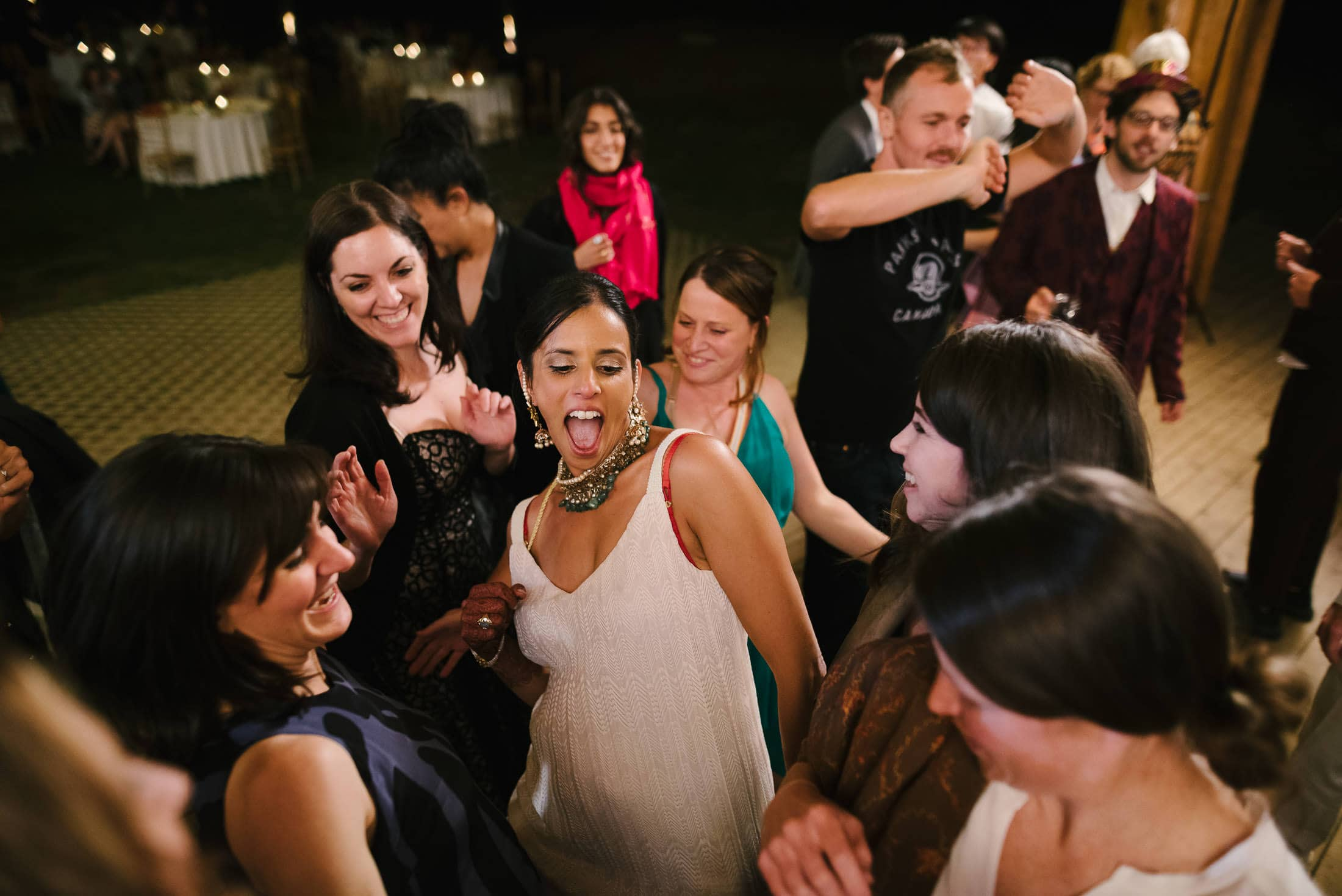 Boulder Creek YMCA Wedding Dancing