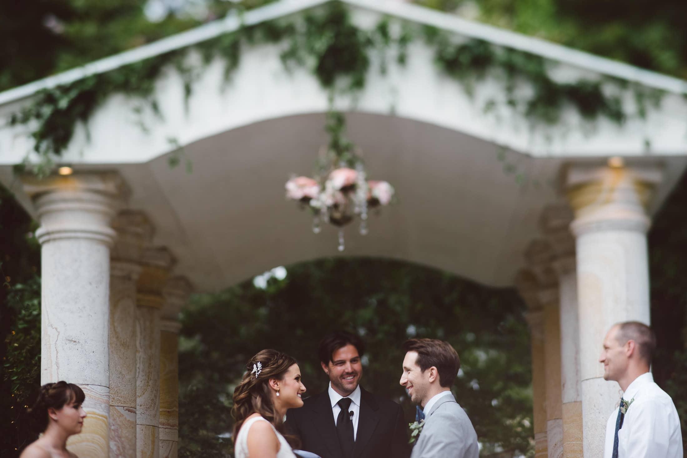 brownstone gardens wedding ceremony