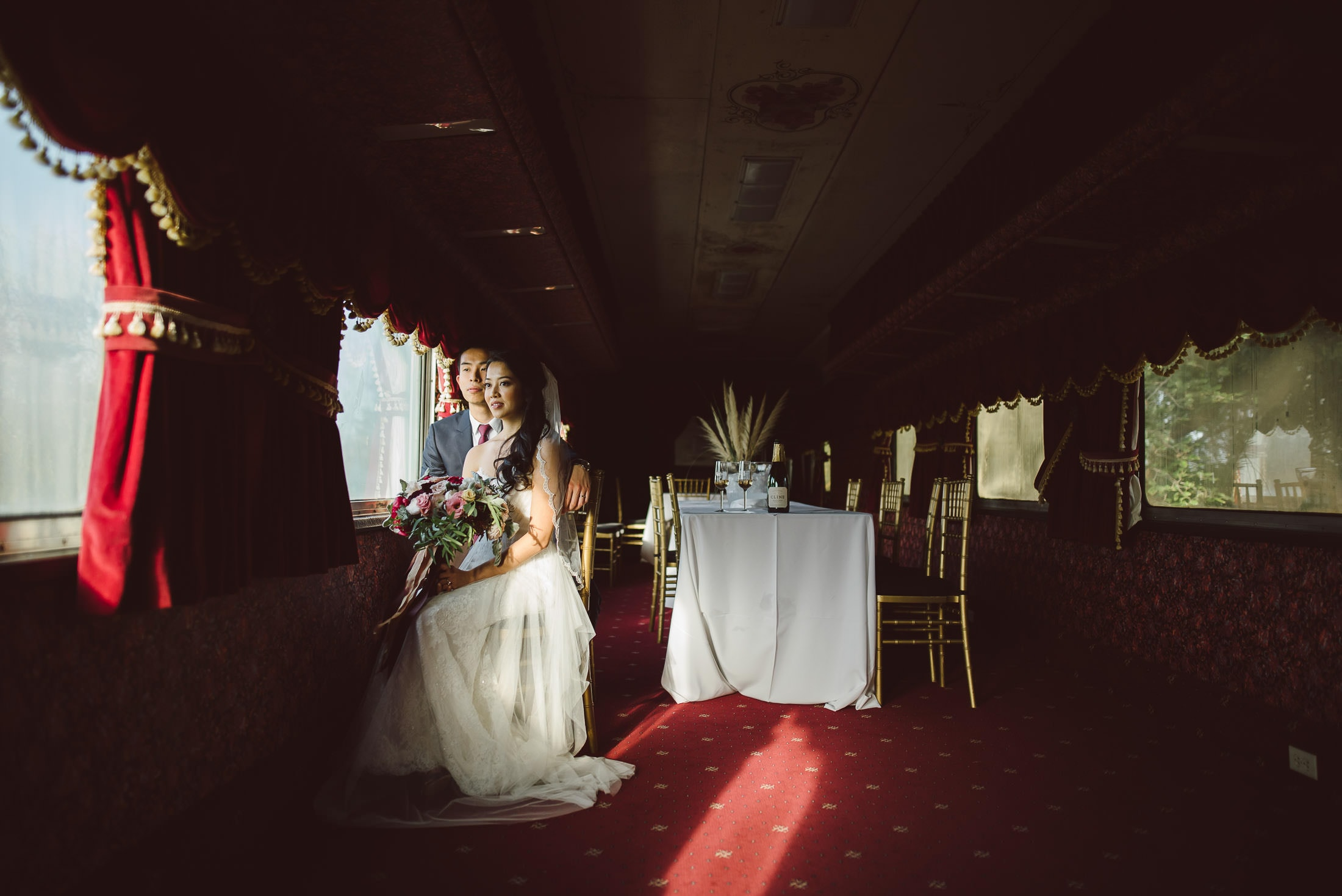 Cline Cellars Wedding Portrait
