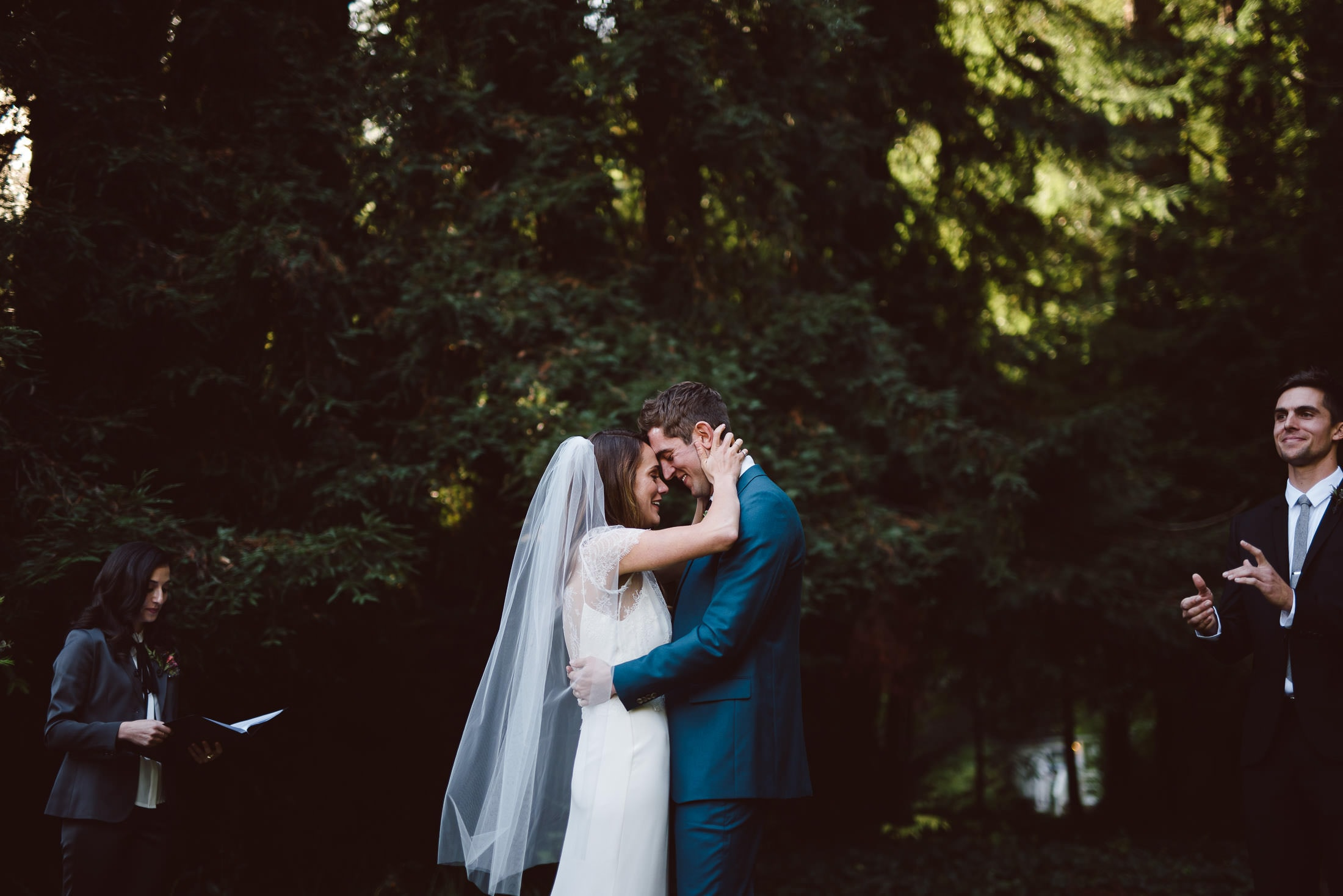 Dawn ranch wedding ceremony