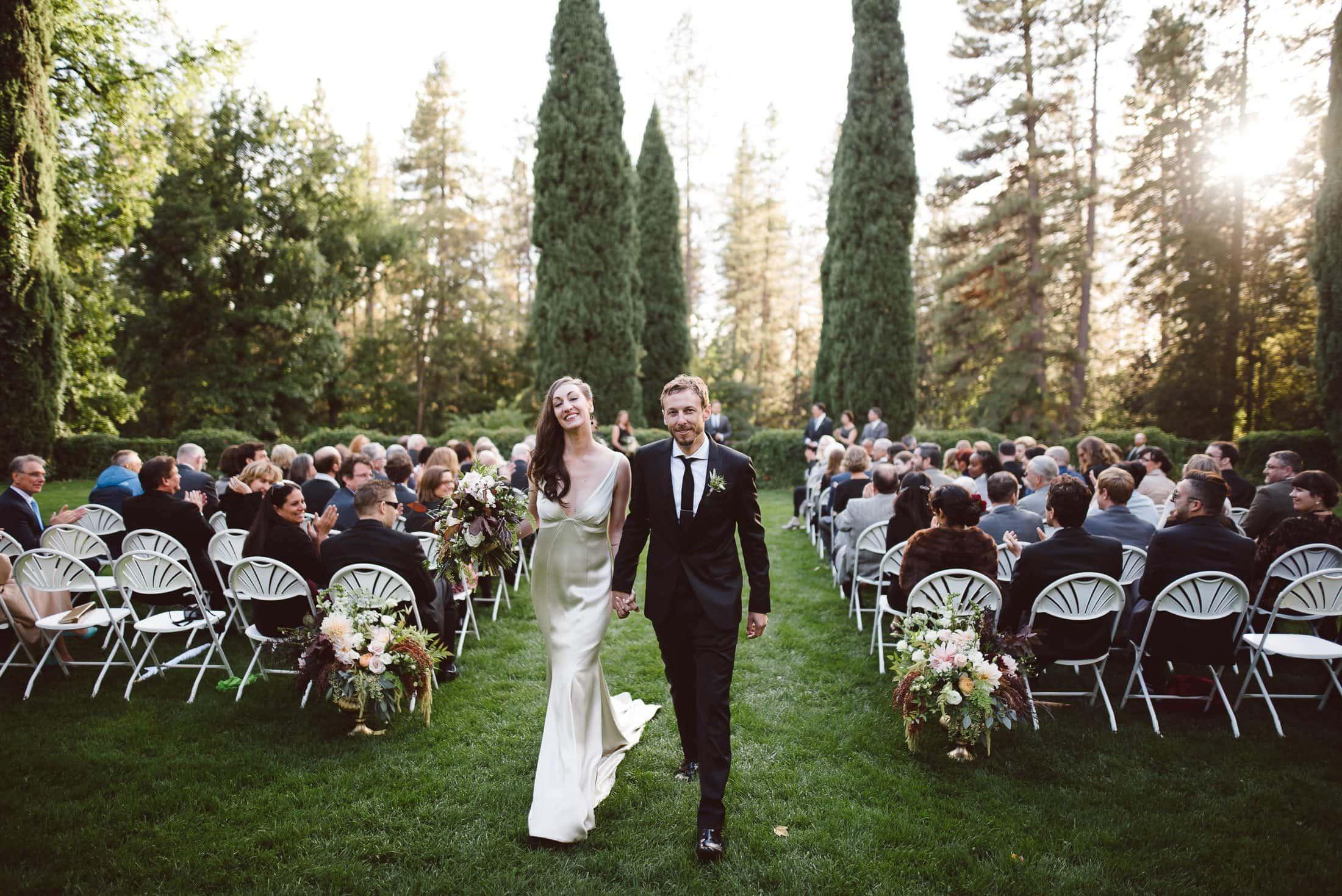 Empire Mine Wedding Ceremony