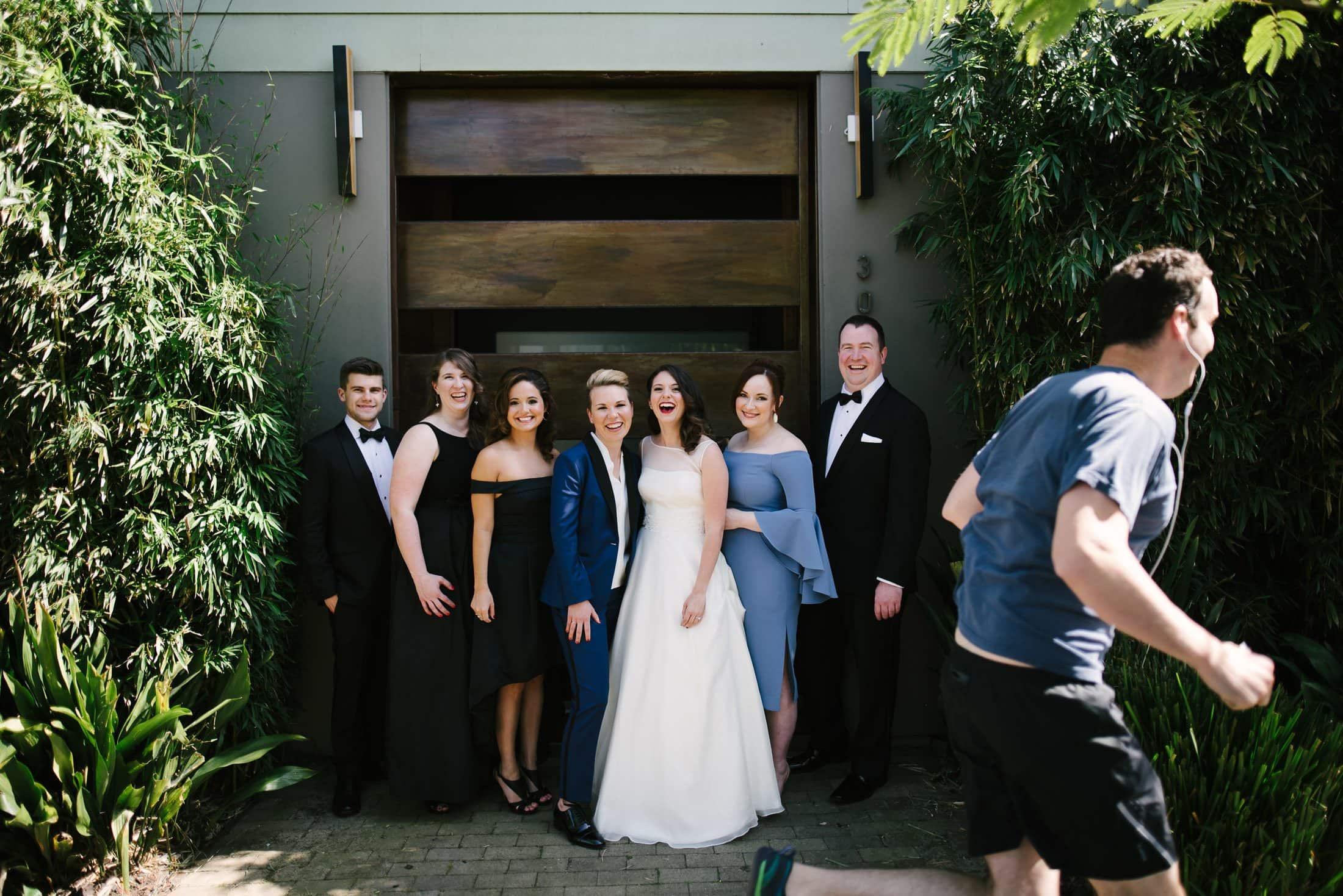 Wedding Party Same Sex Wedding San Francisco