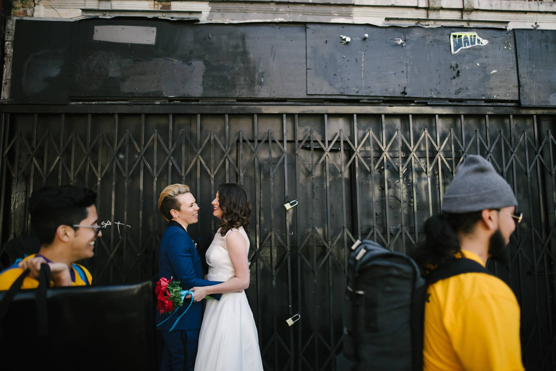 Same Sex Wedding Portrait San Francisco