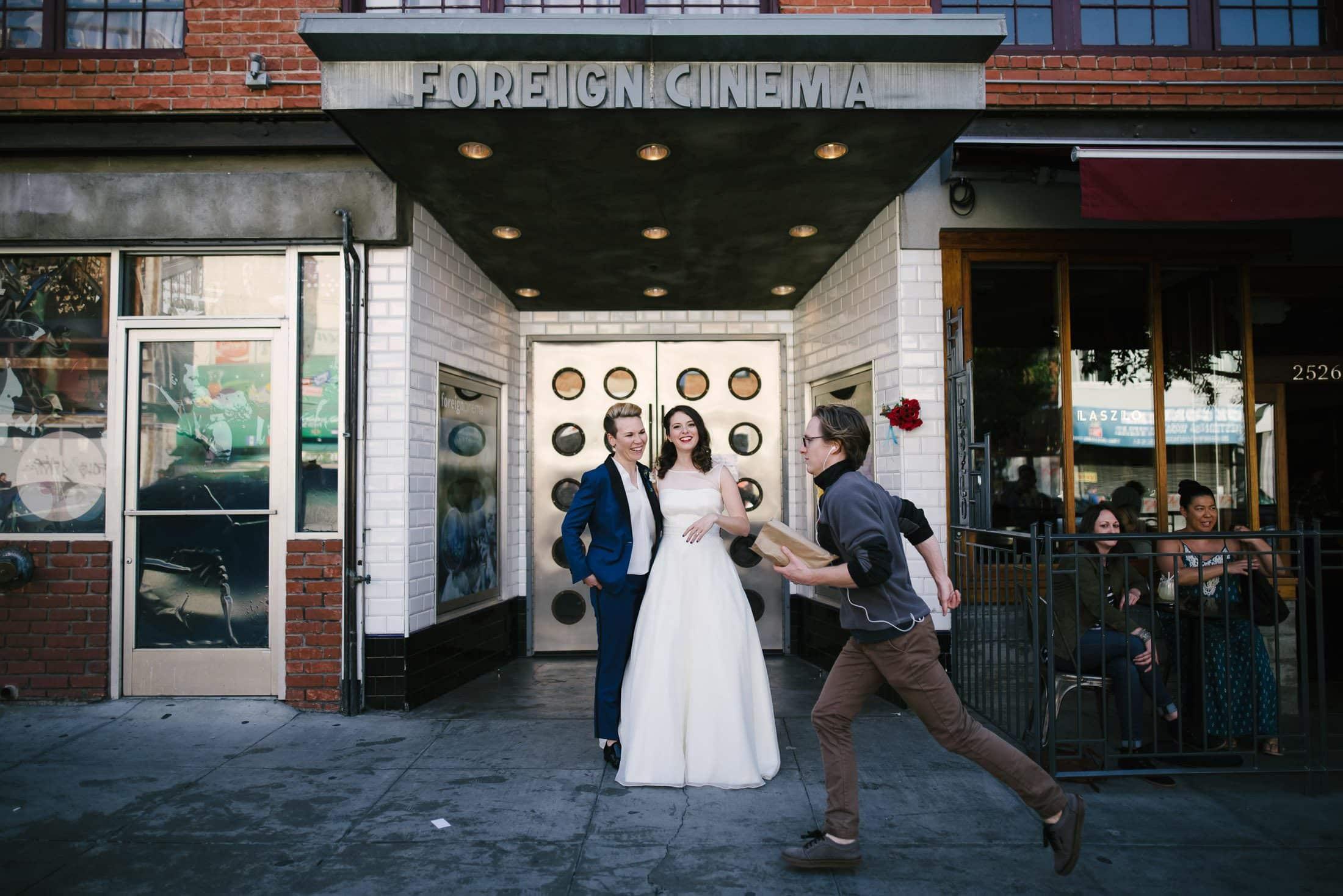 Same Sex Wedding Portrait San Francisco