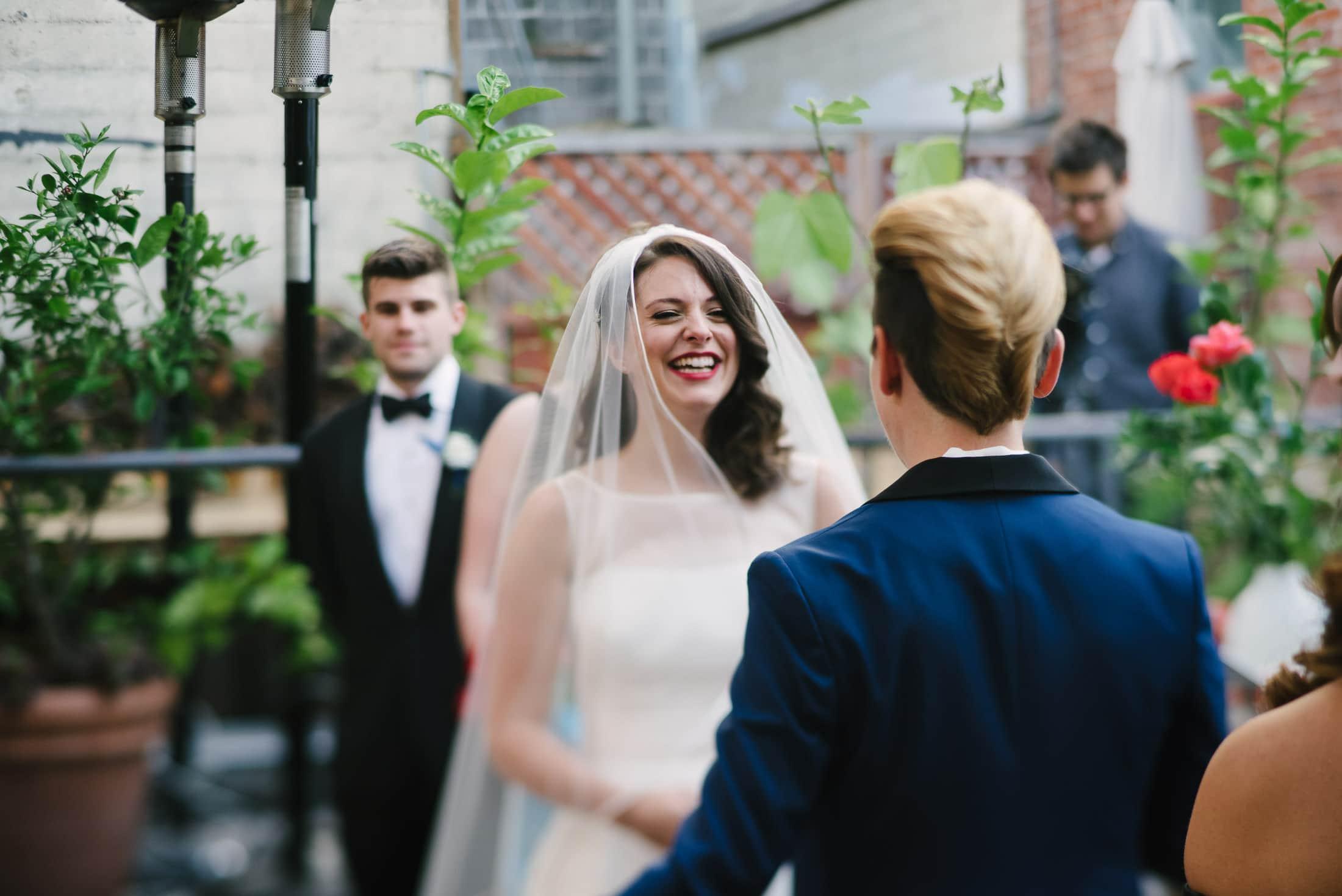 Foreign Cinema Wedding Ceremony