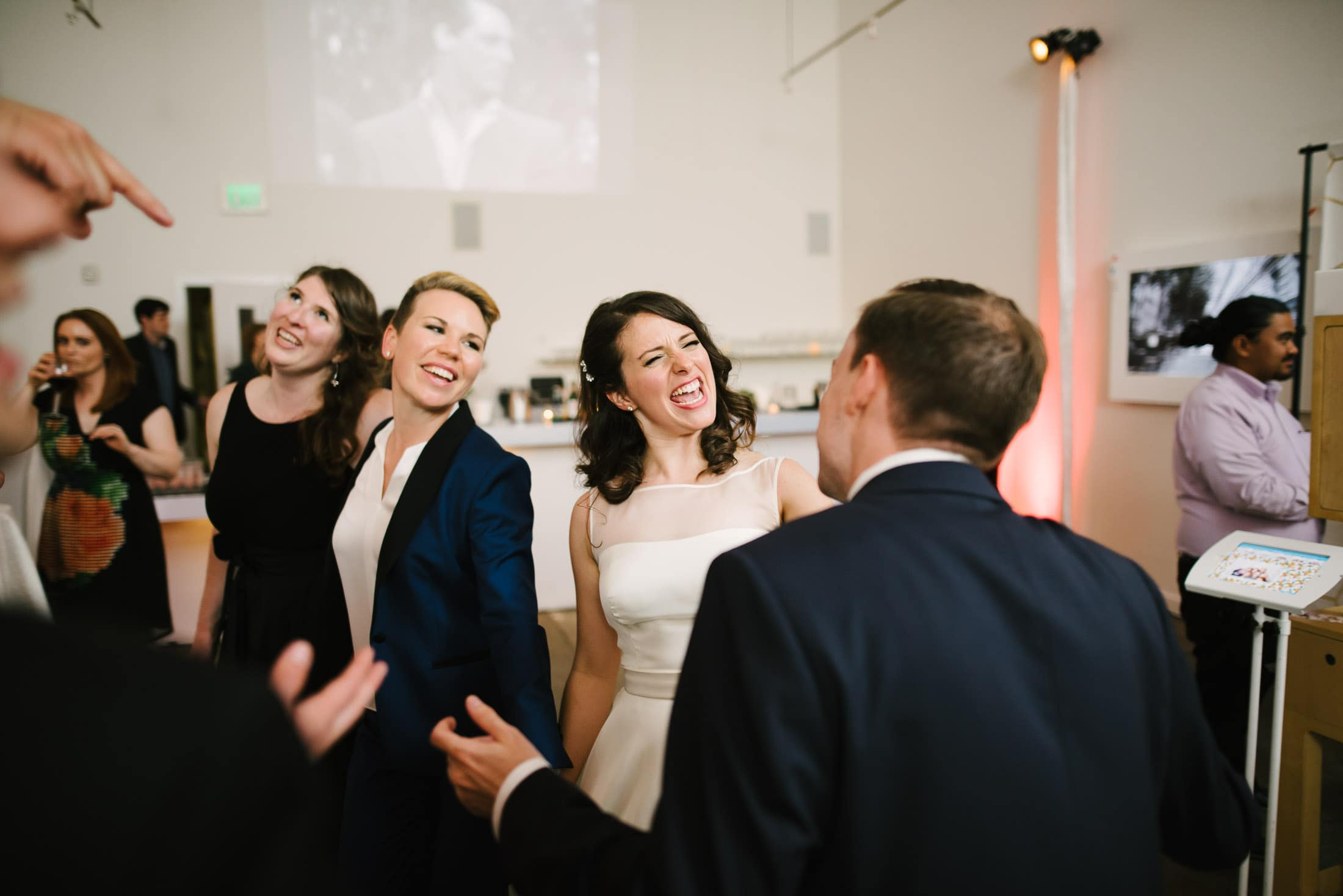 Foreign Cinema Wedding Reception