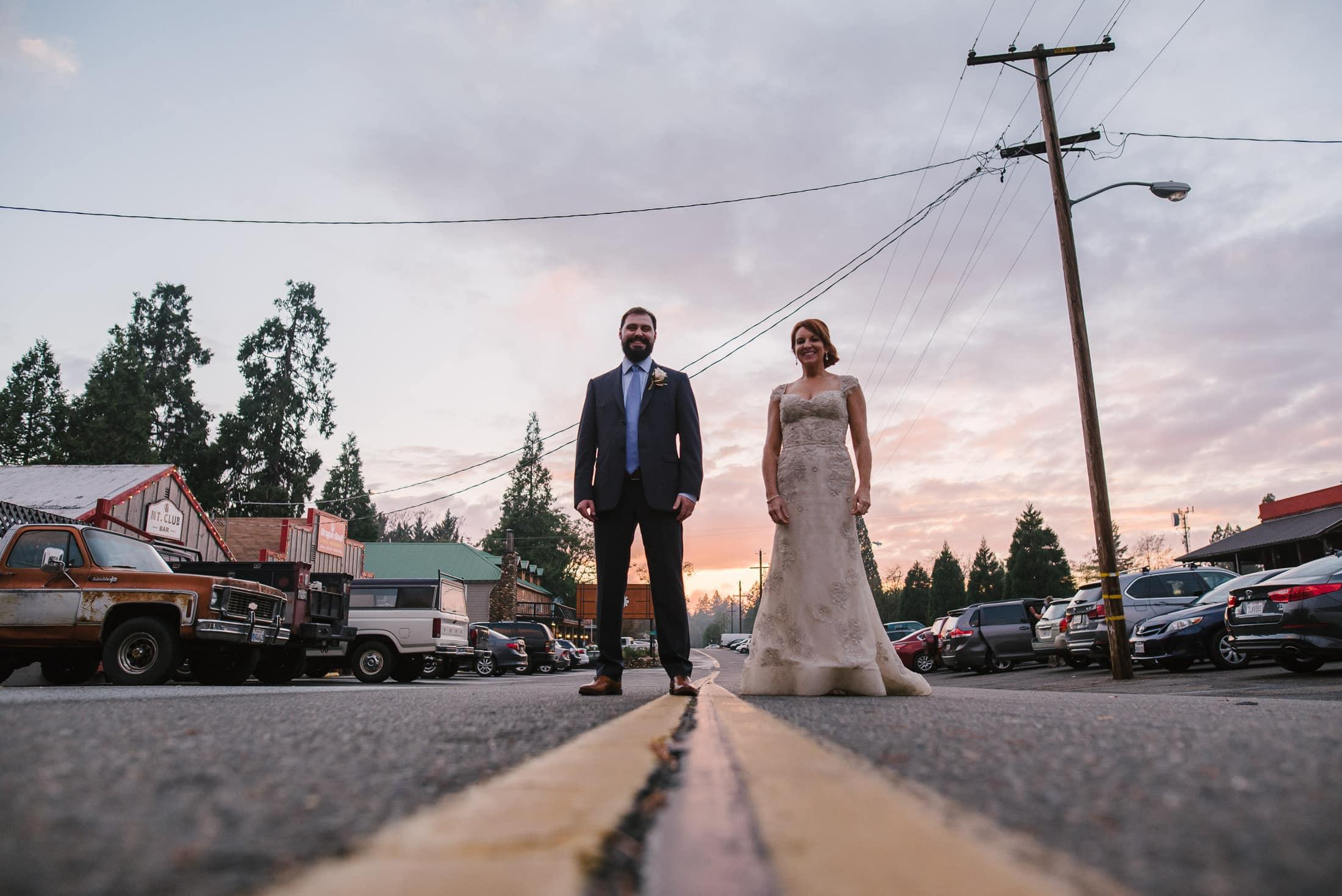 forest hill wedding portrait