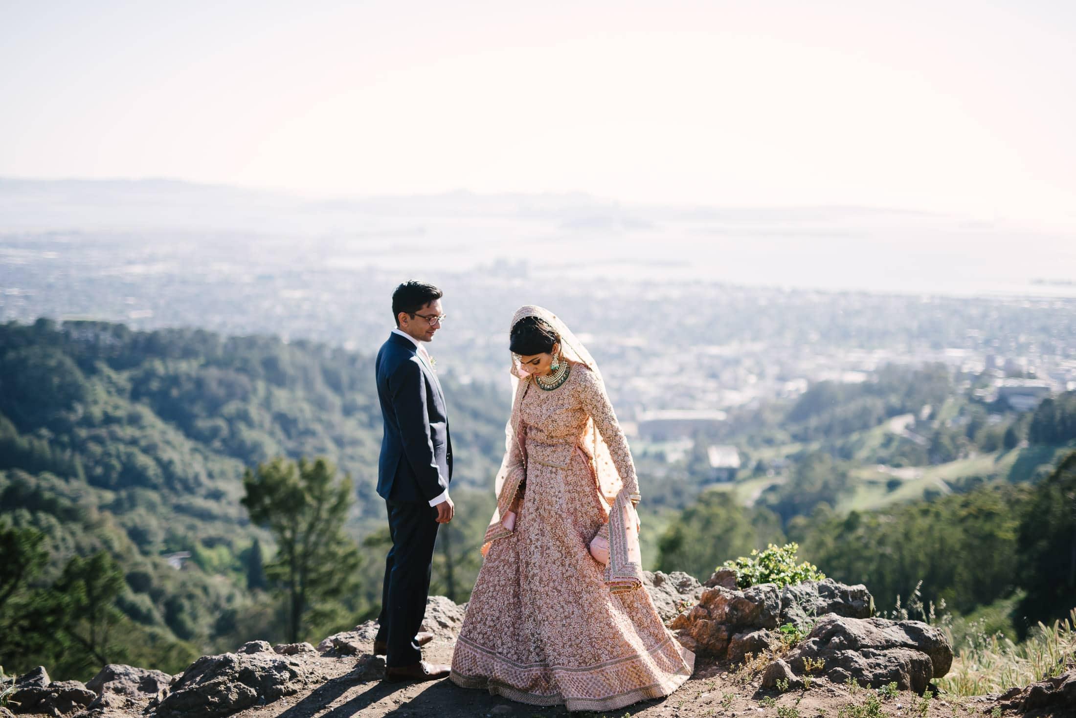 Pakastani Bride in Berkeley