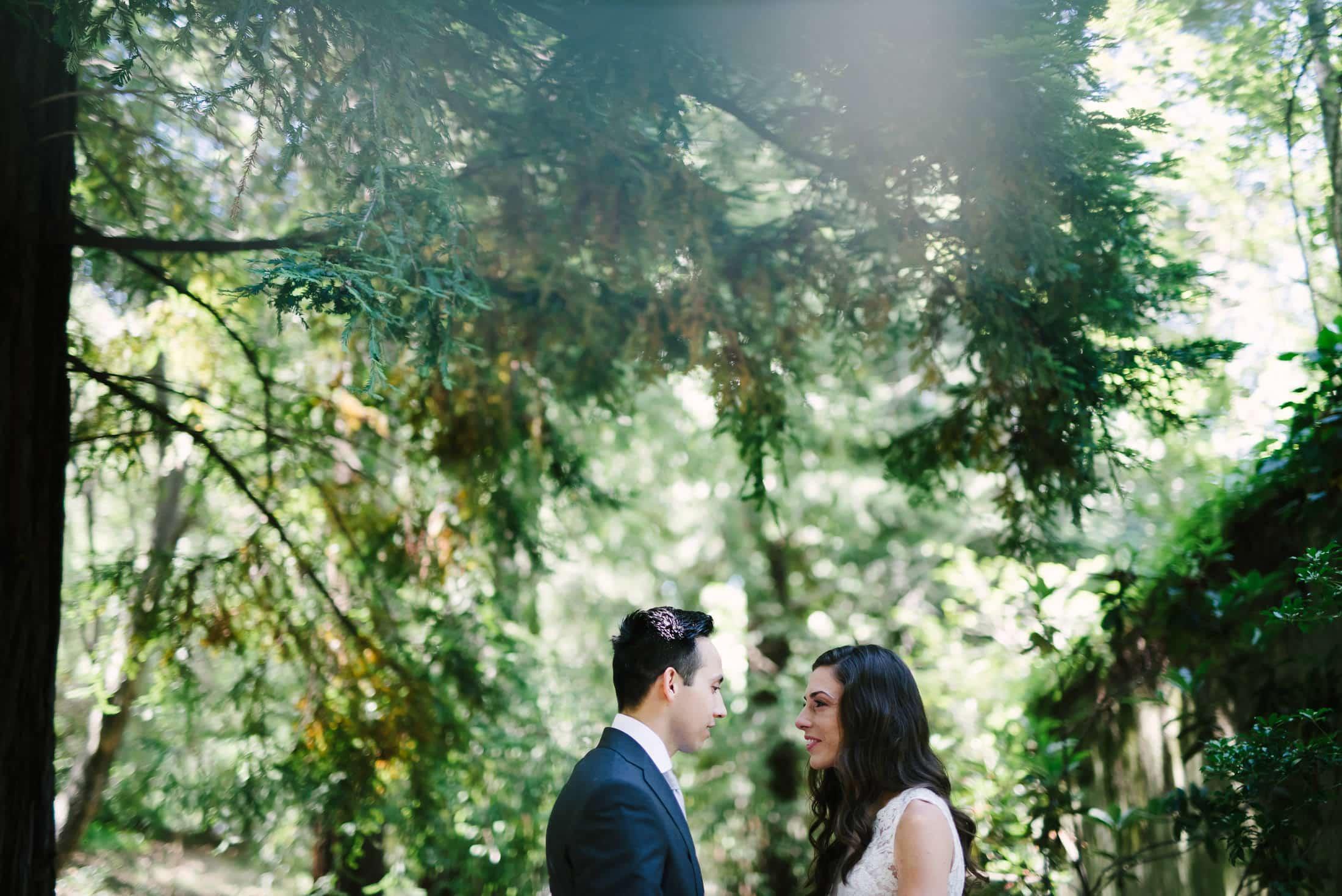 Hacienda de las Flores Wedding First Look