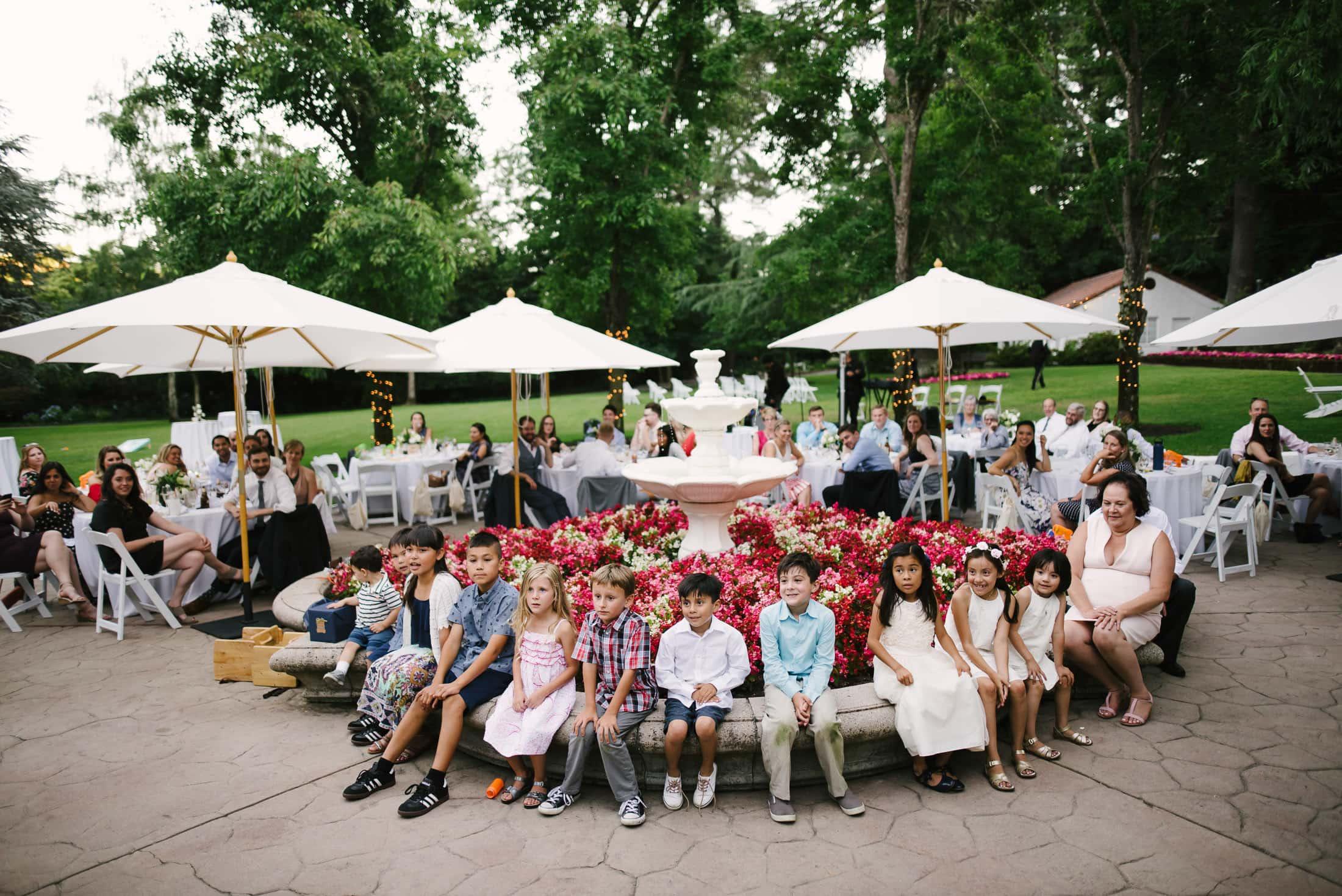 Hacienda de las Flores Wedding Kids