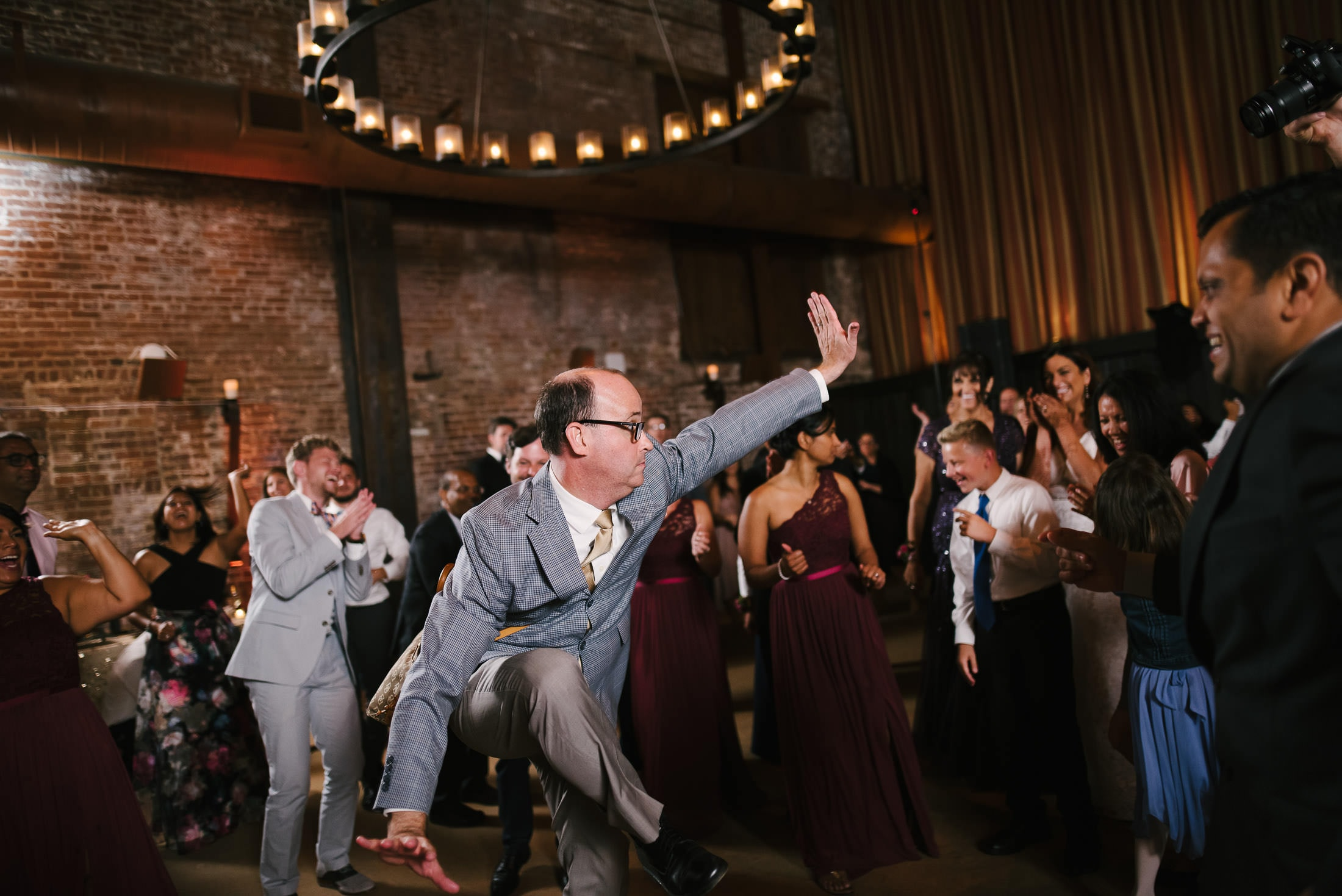 Fun Wedding Dance Floor Pic