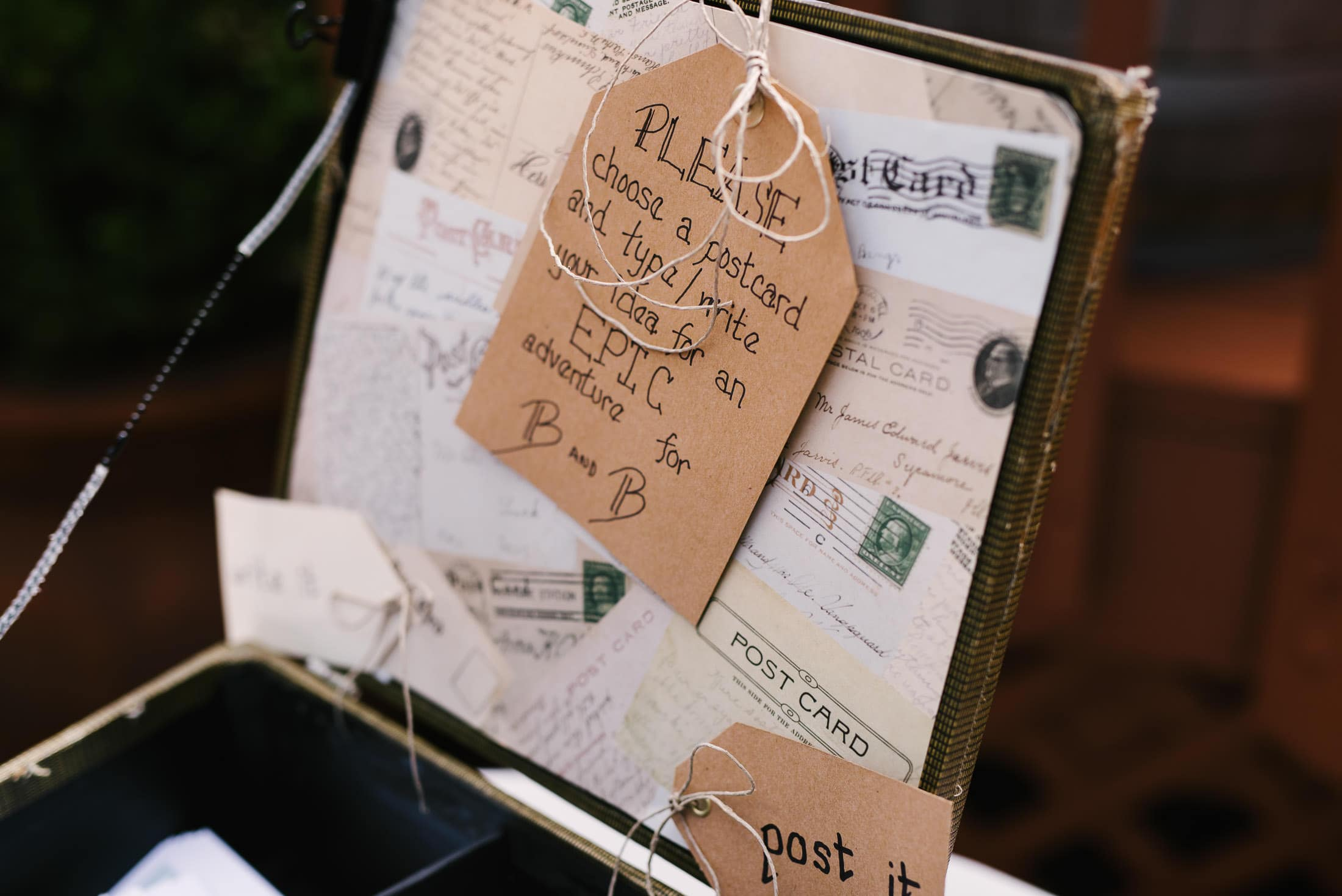 Wedding Details at the Mountain Terrace