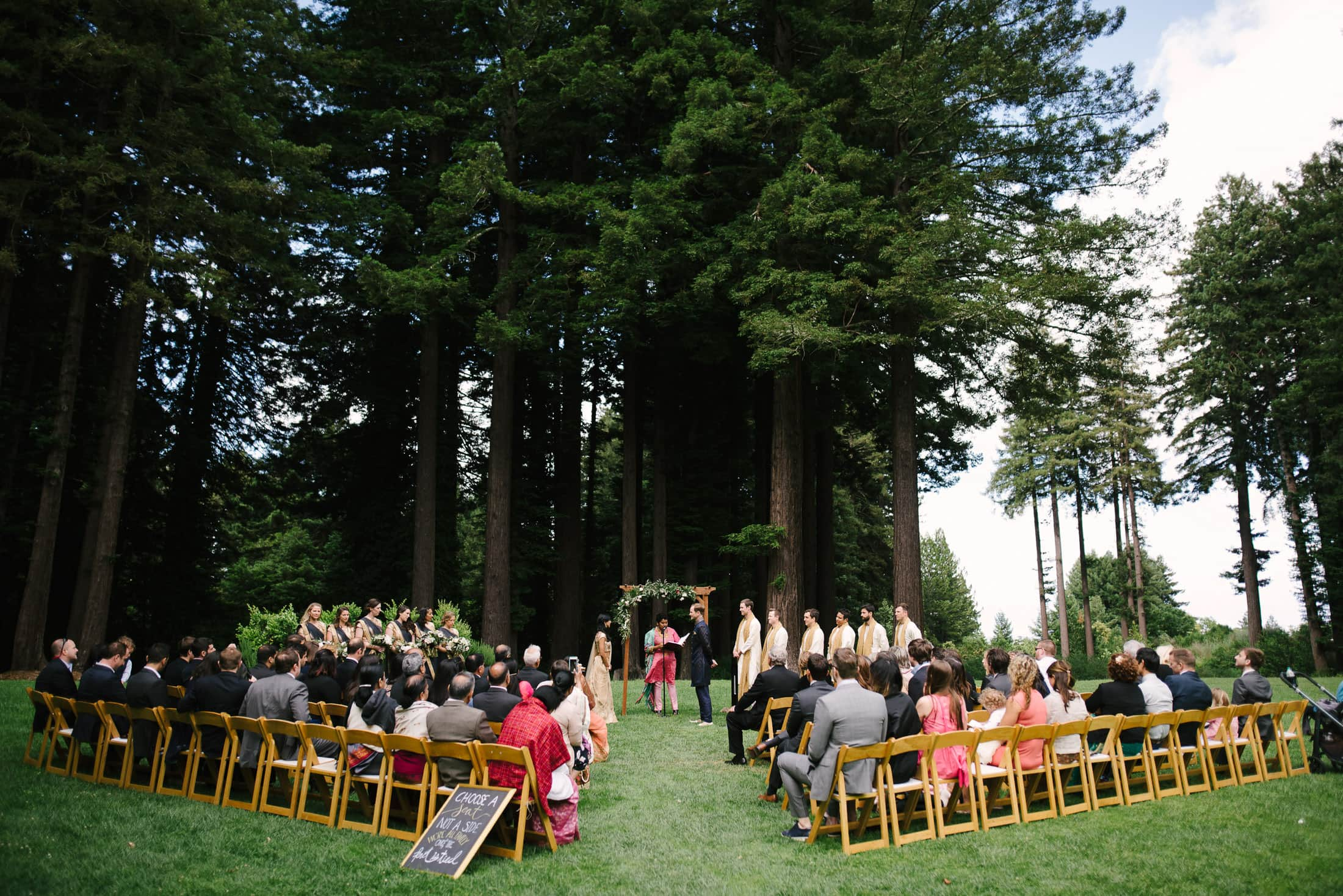 Wedding Ceremony at the Mountain Terrace