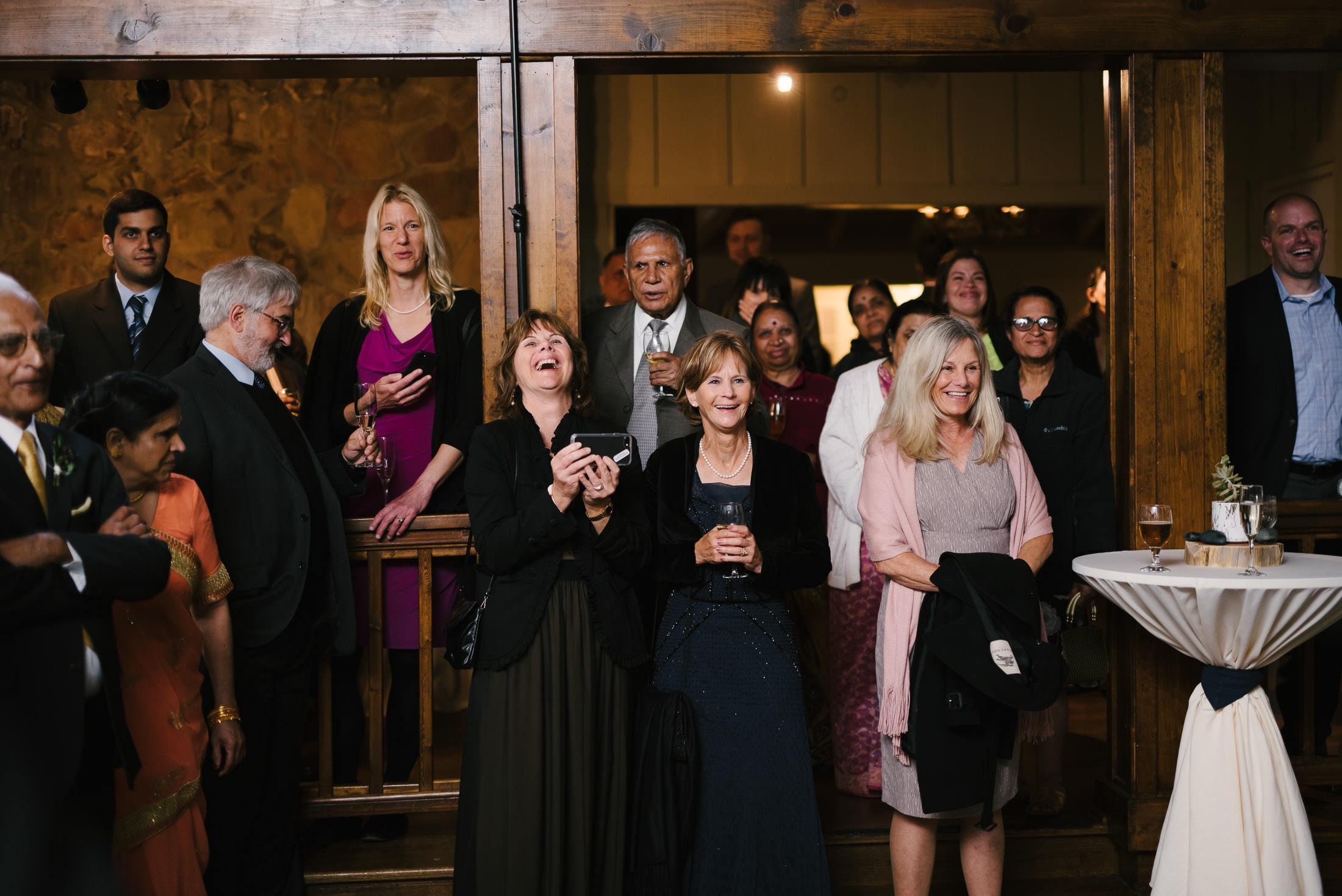 Wedding reception at the Mountain Terrace