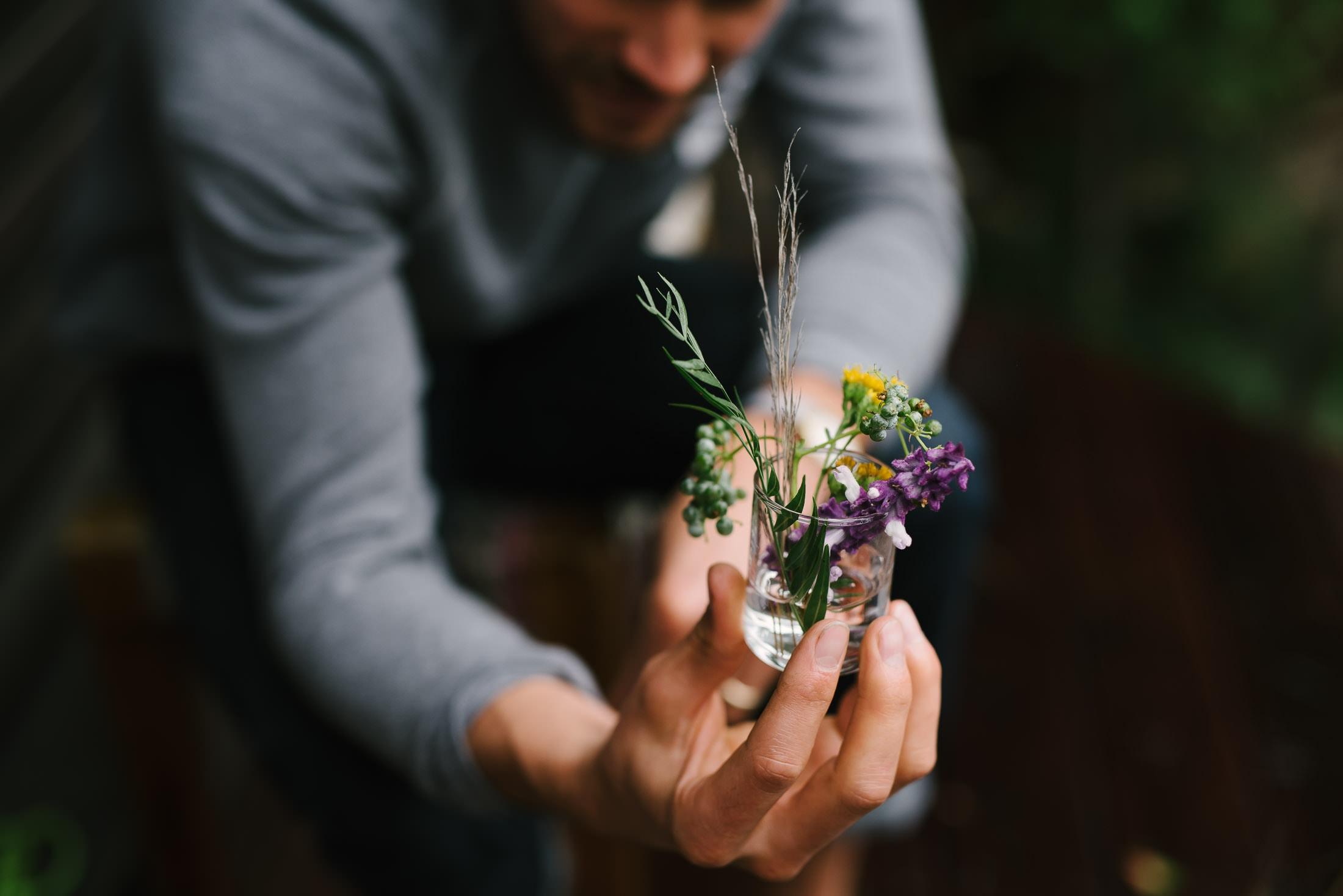 DIY Wedding Foraged Flowers