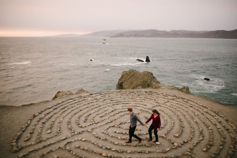 lands end san francisco engagement