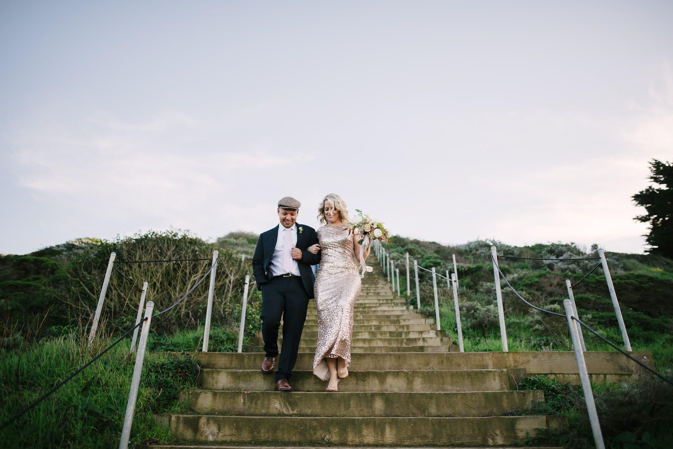 Lands End Wedding