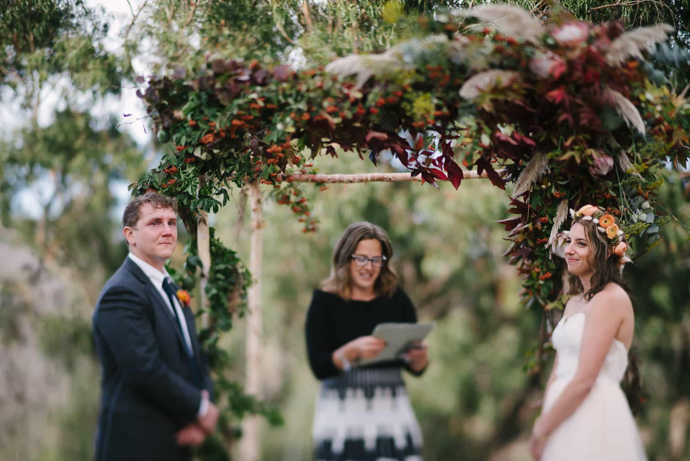 Marin Headlands Center for the Arts Wedding Ceremony