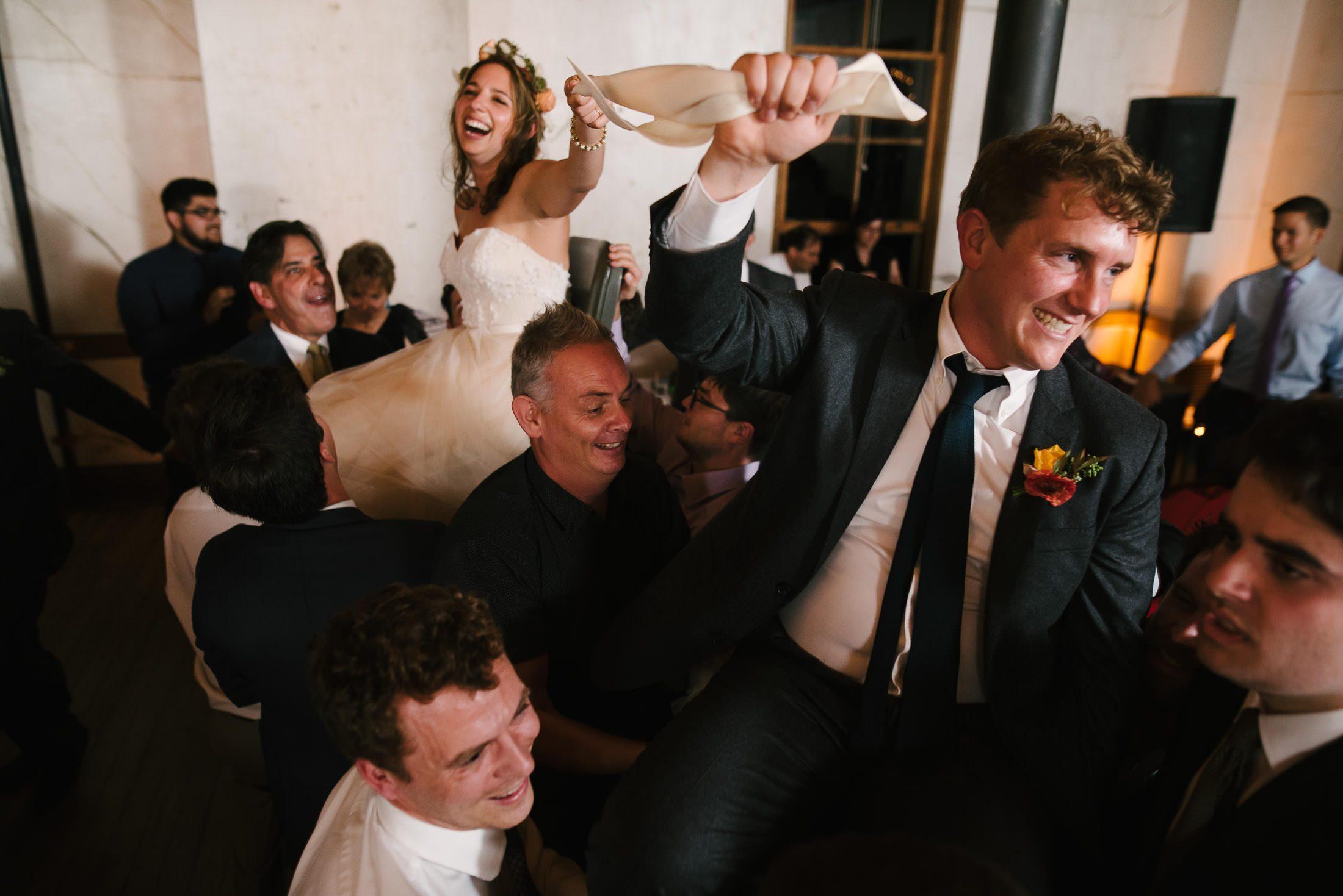 Marin Headlands Center for the Arts Wedding Chair Dance