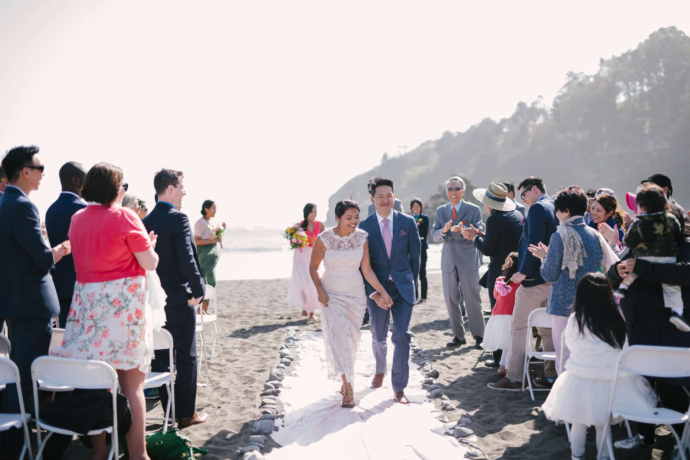Muir Beach Wedding Ceremony