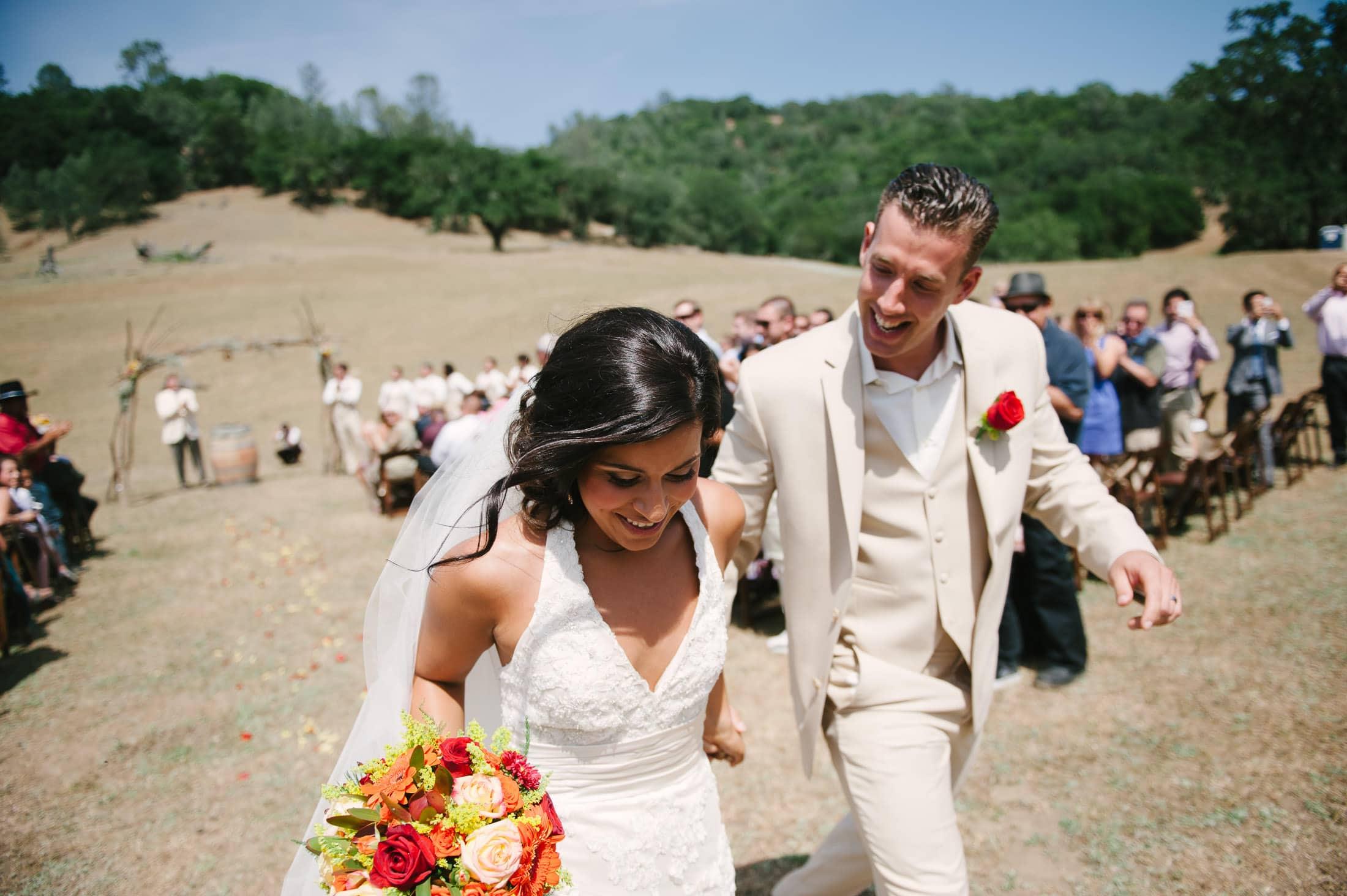 fun napa ranch wedding