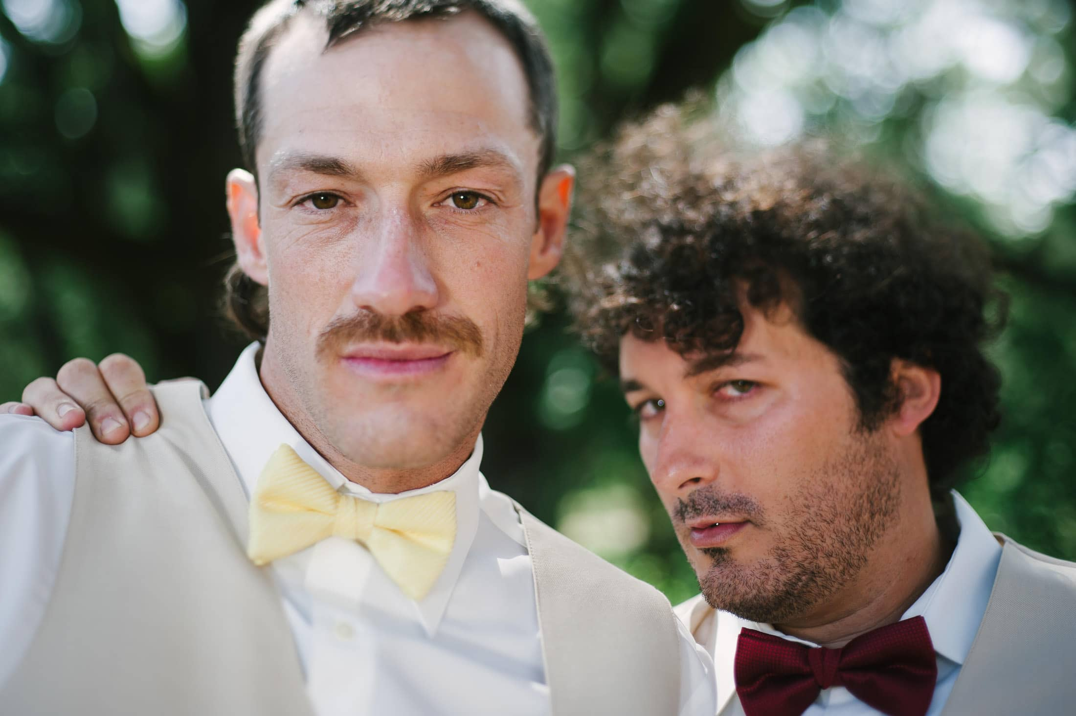 fun napa ranch wedding party image of Hardy Wilson