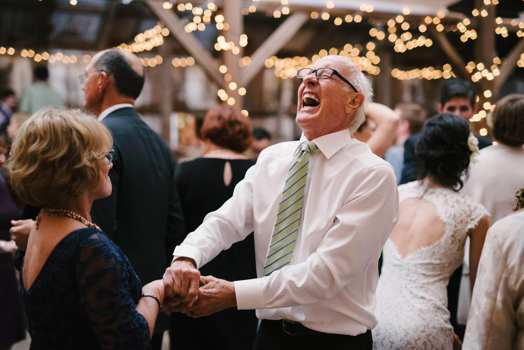 petaluma ranch wedding dancing
