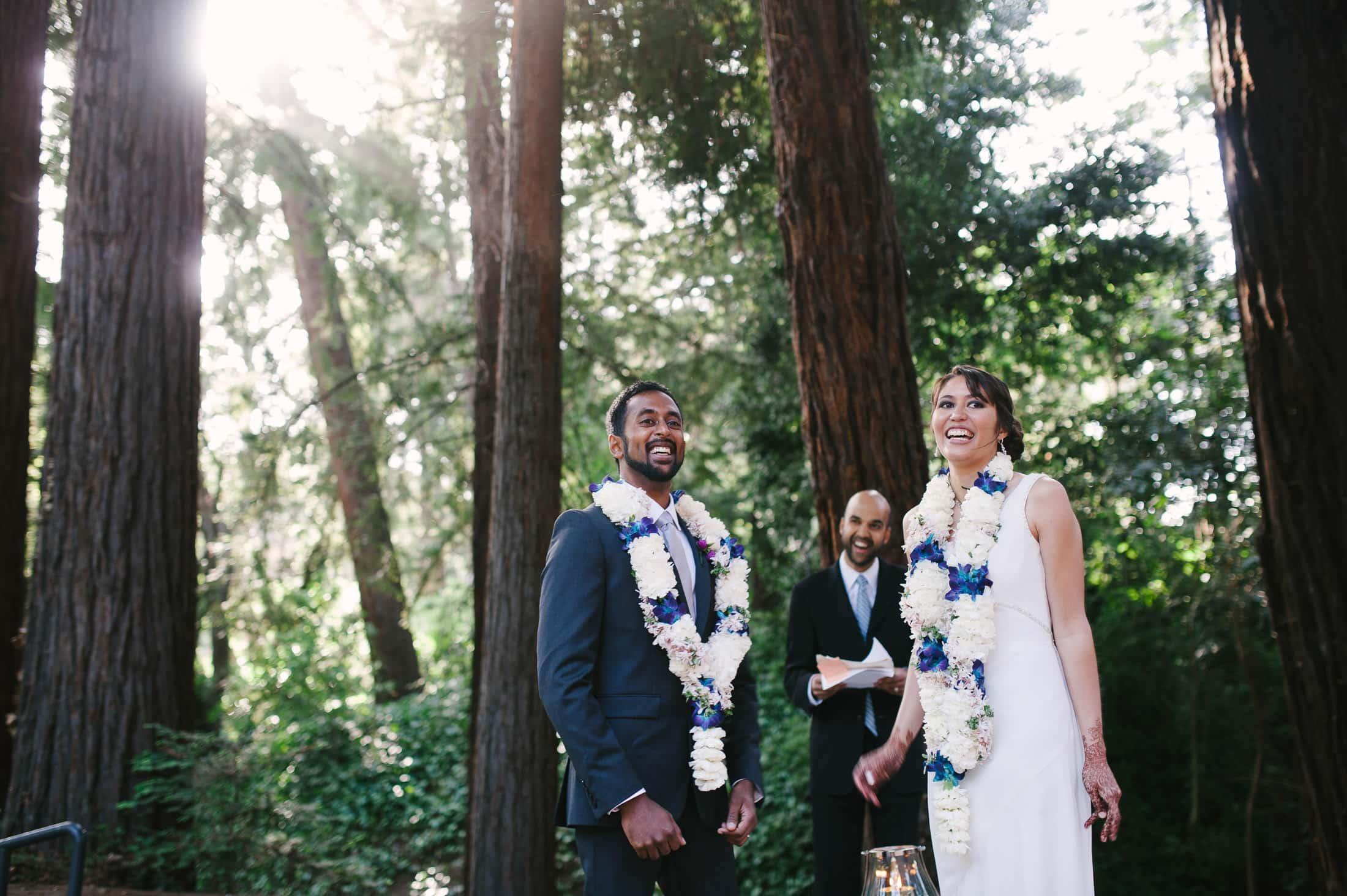 fun Indian wedding at Piedmont Community Hall