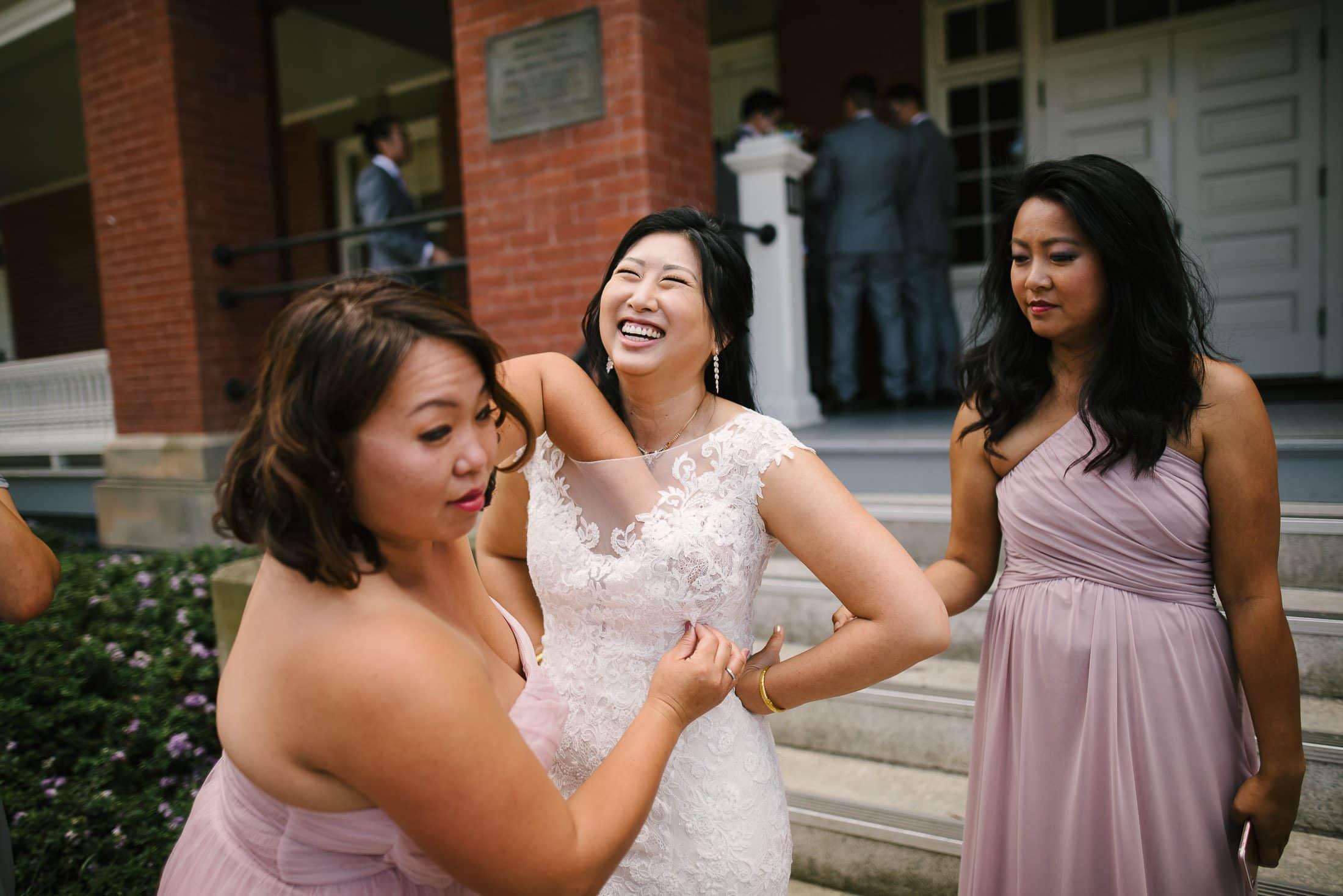 Goofy Presidio Lodge Wedding pic