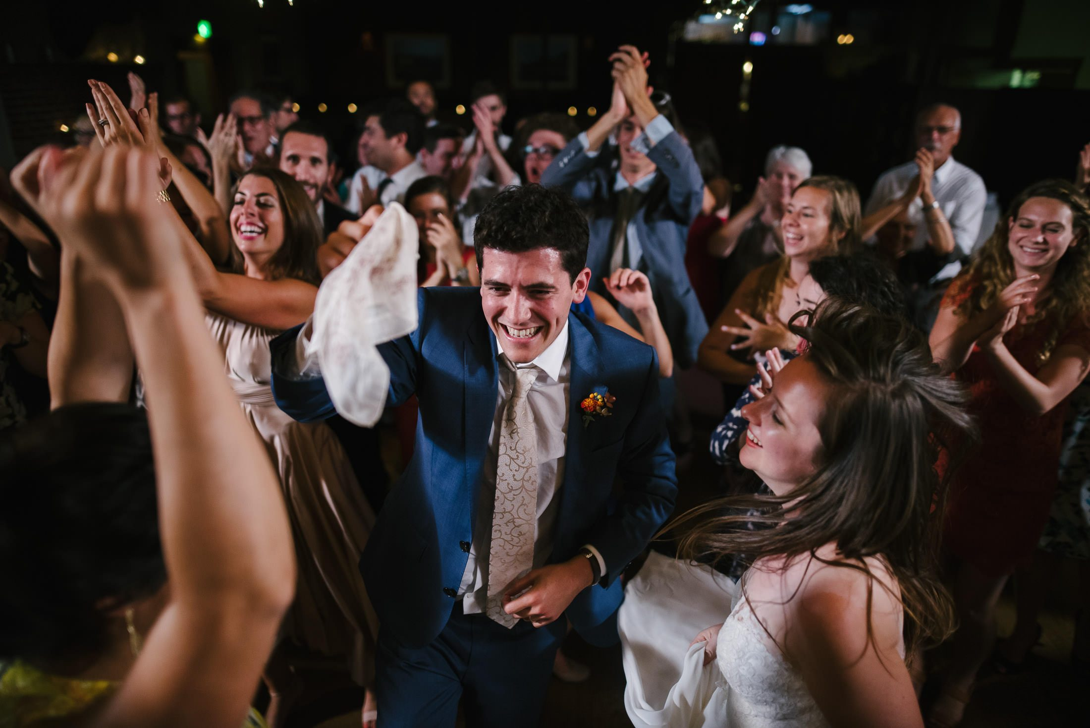 wedding dance party at rancho nicasio in marin