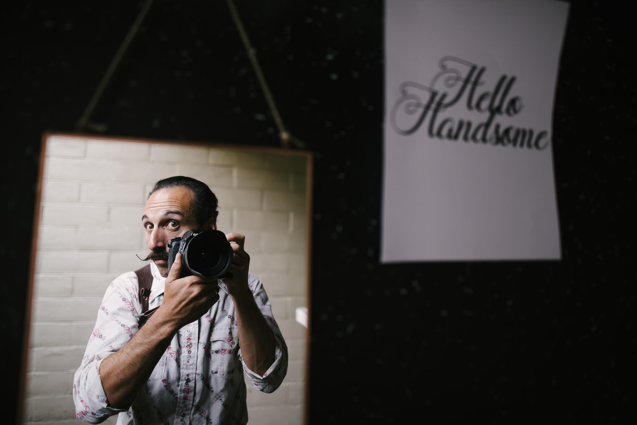 Photographer selfie