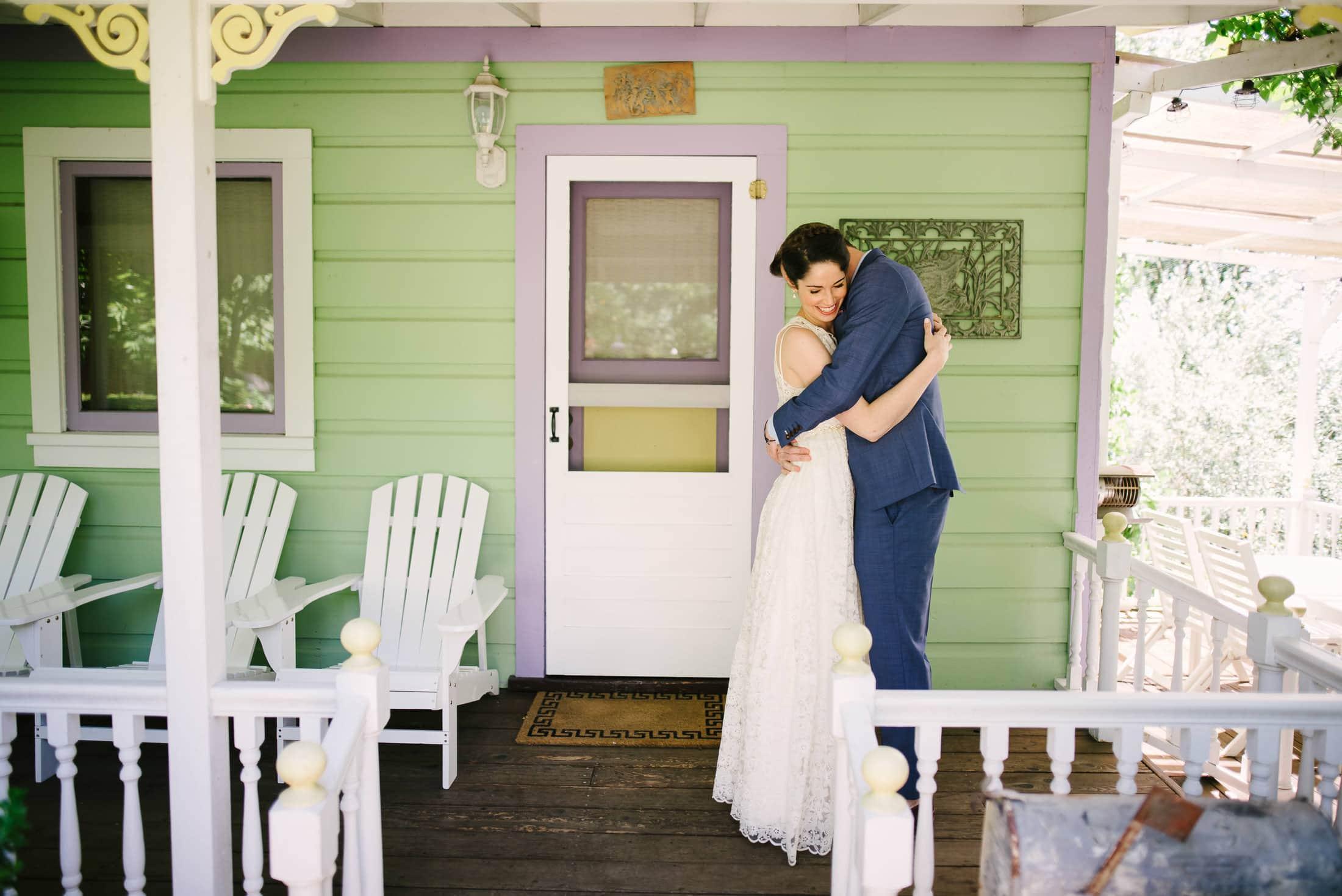 Ru's Farm Wedding First Look