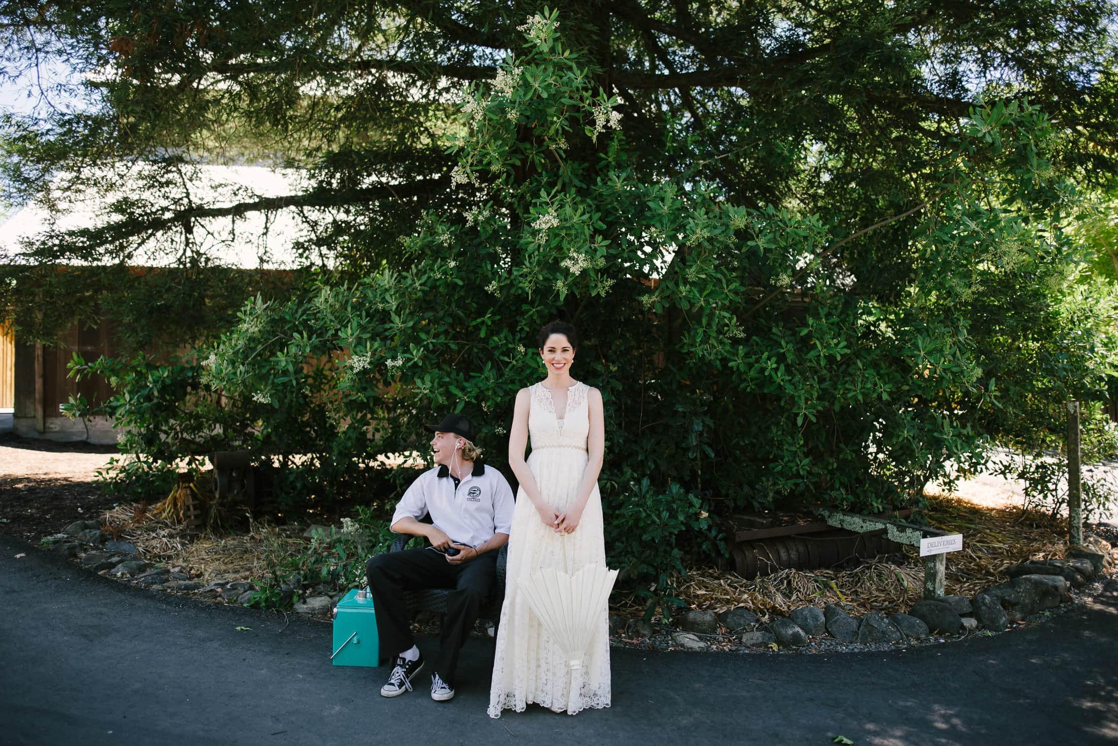 Ru's Farm Wedding Bridal Portrait