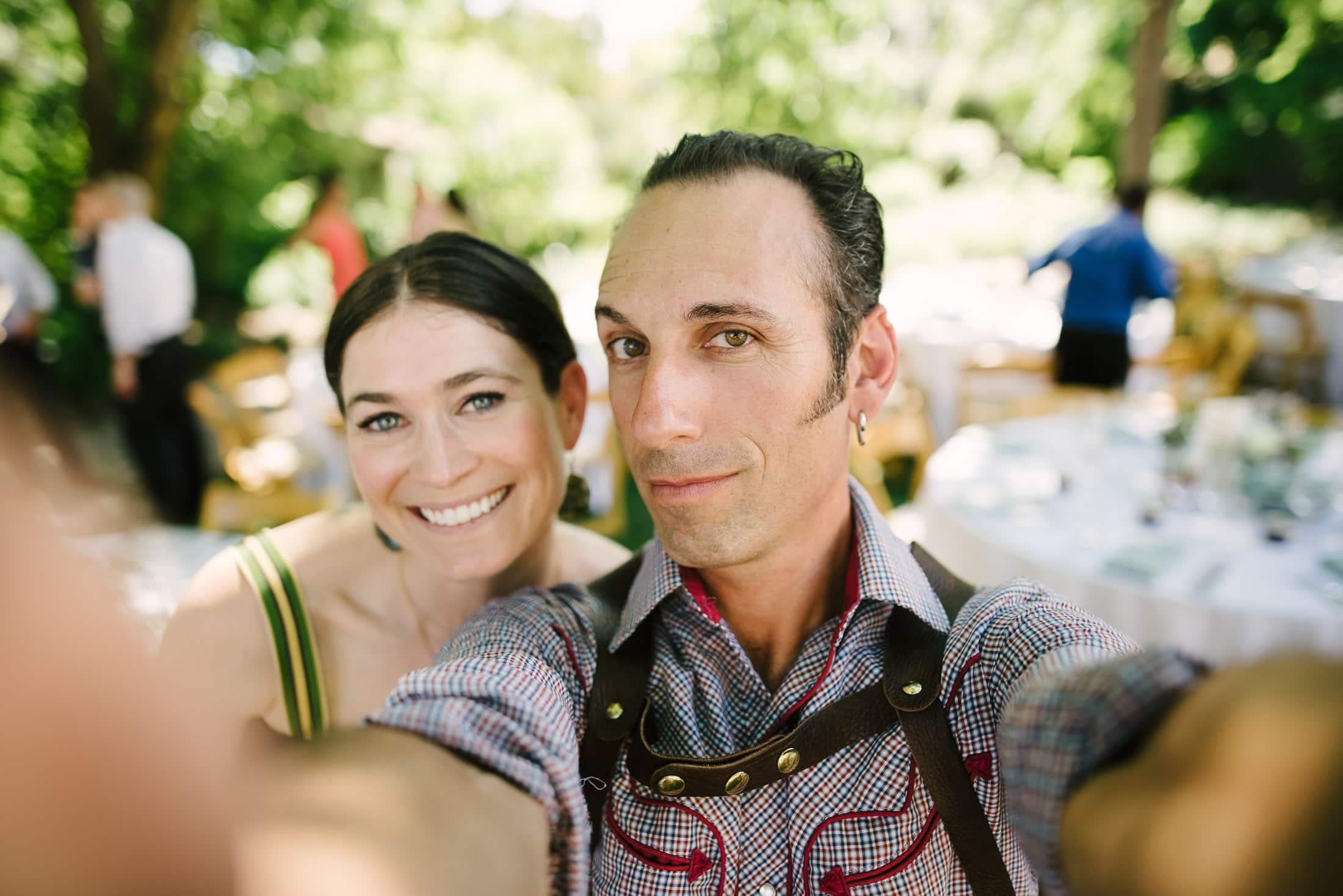Ru's Farm Wedding Photographer Selfie
