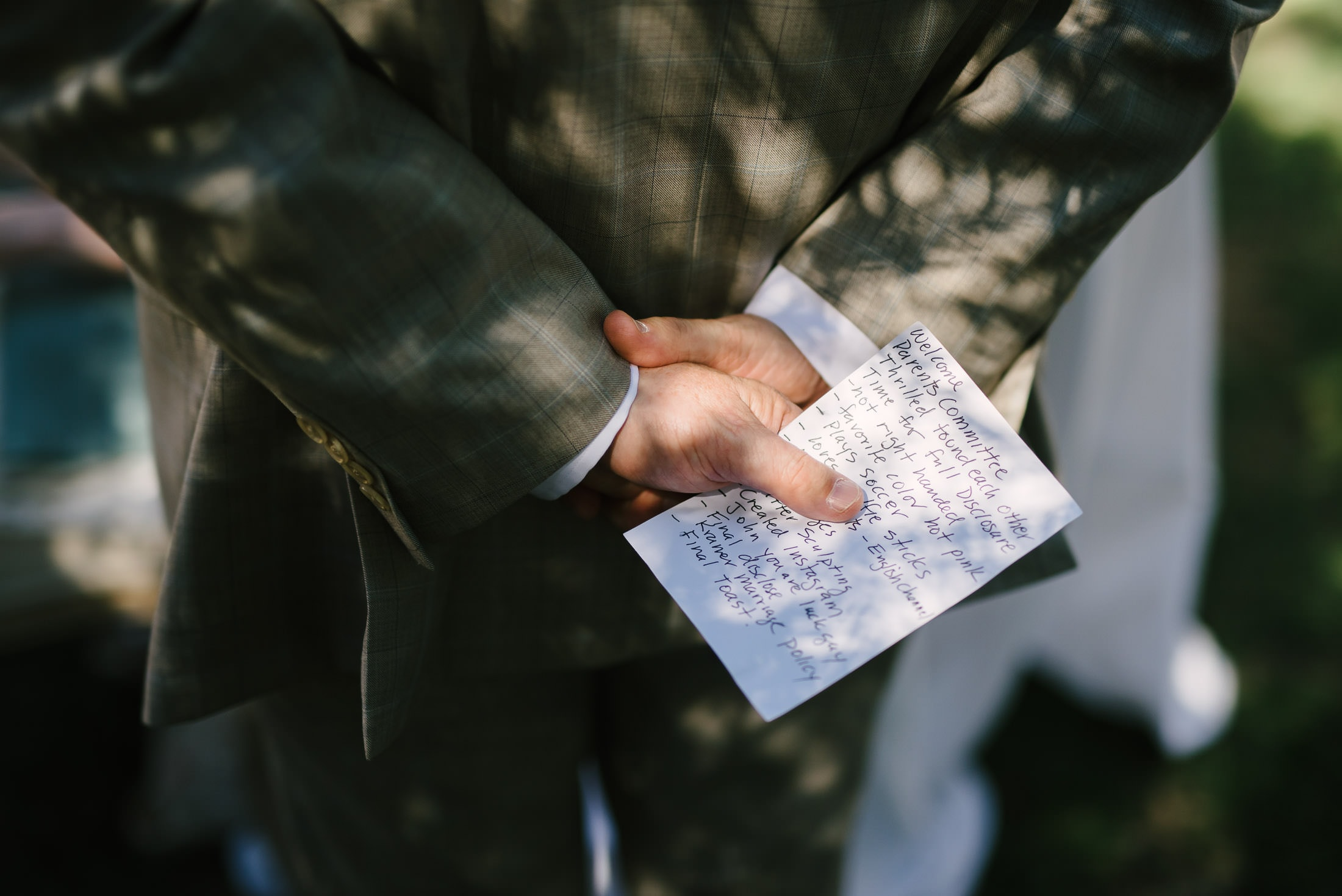Ru's Farm Wedding Speech