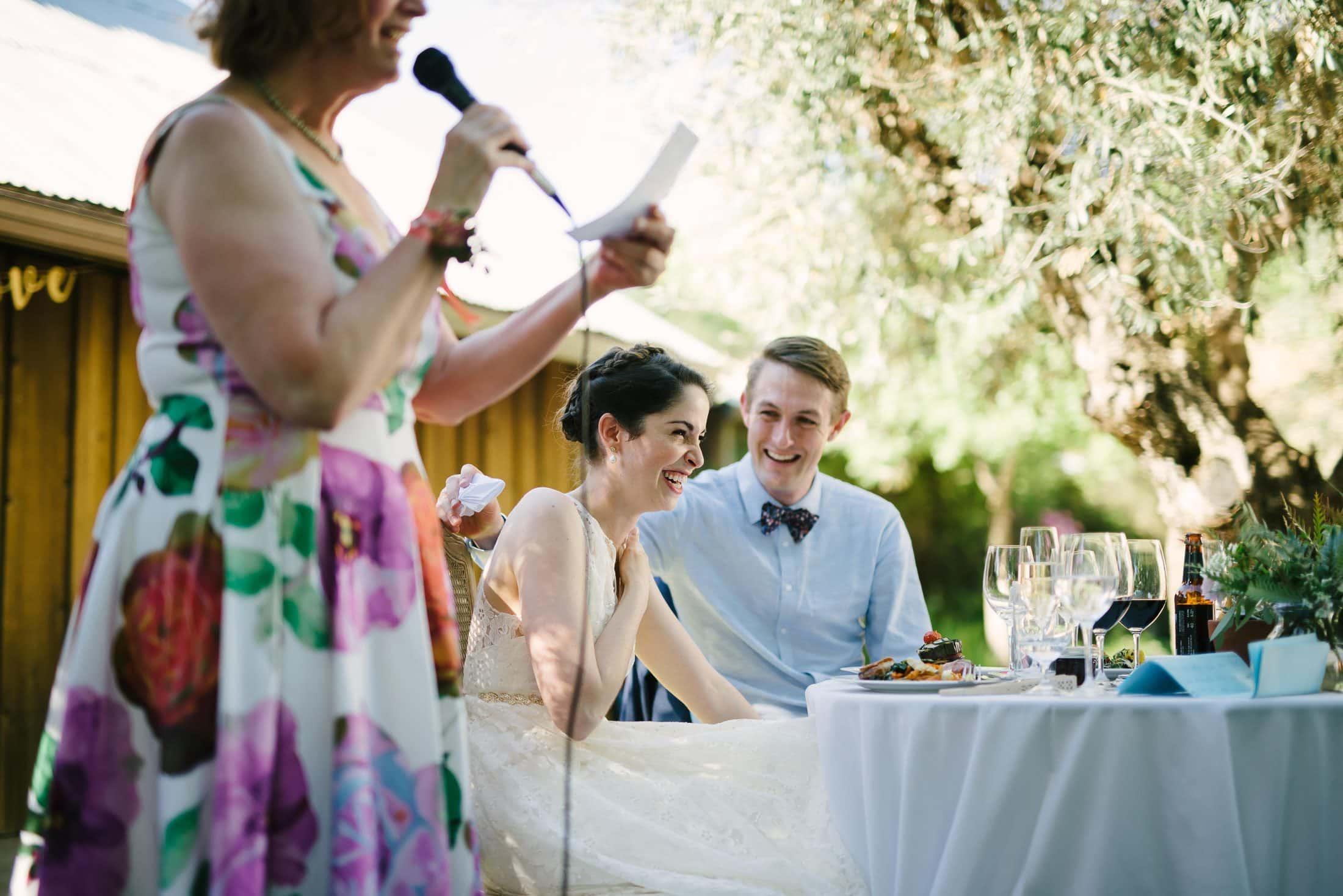 Ru's Farm Wedding Reception