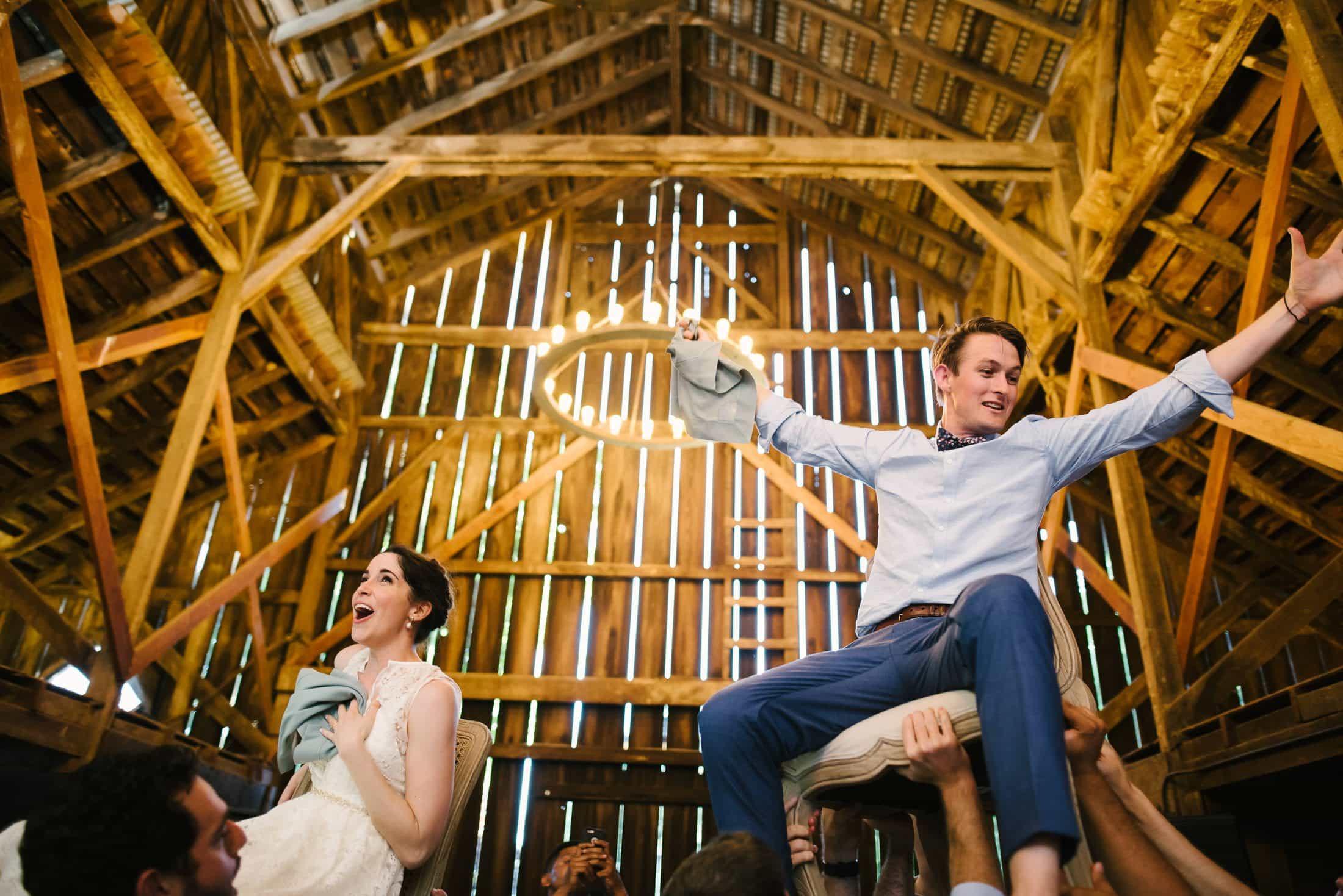 Ru's Farm Wedding Hora