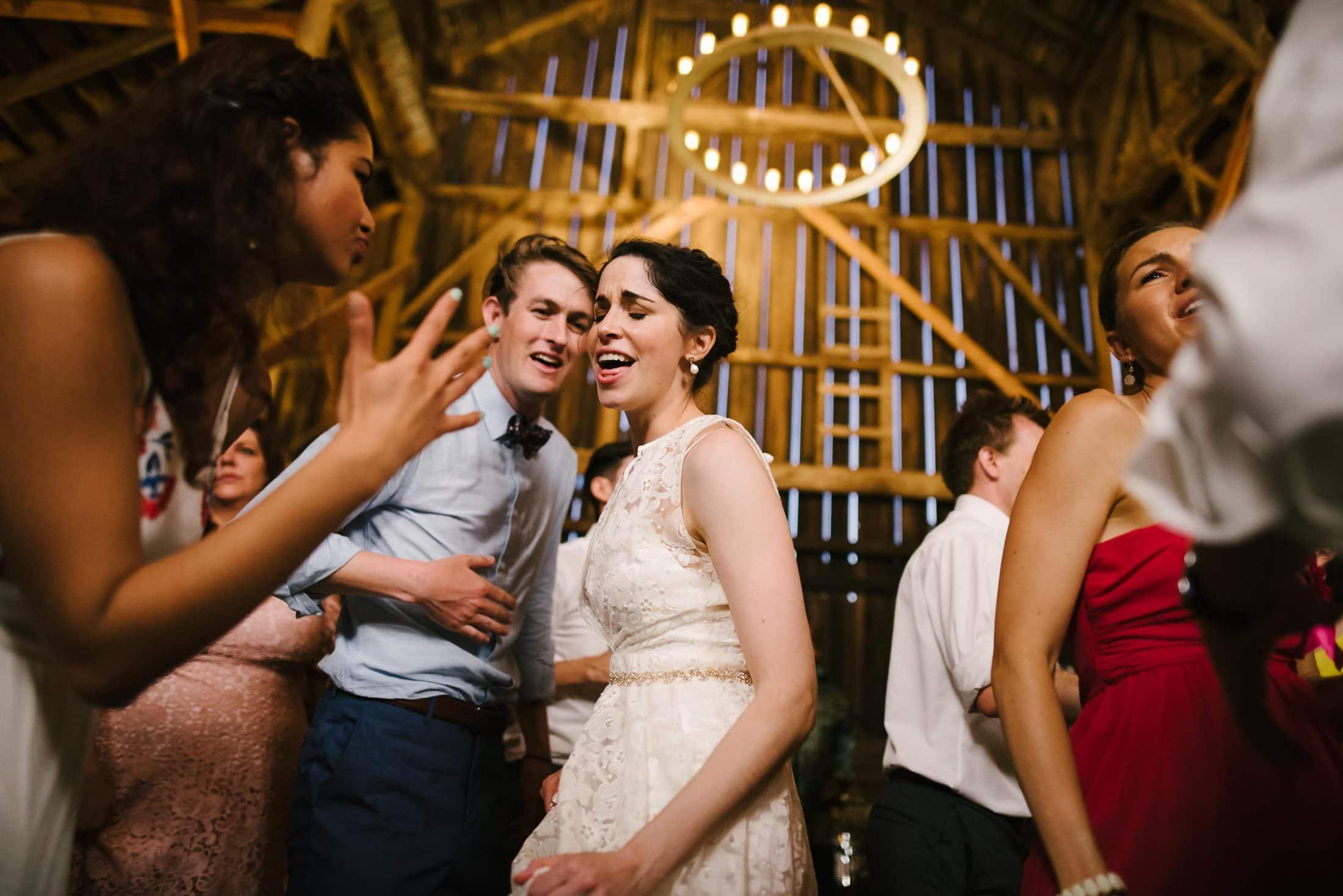 Ru's Farm Wedding Dancing