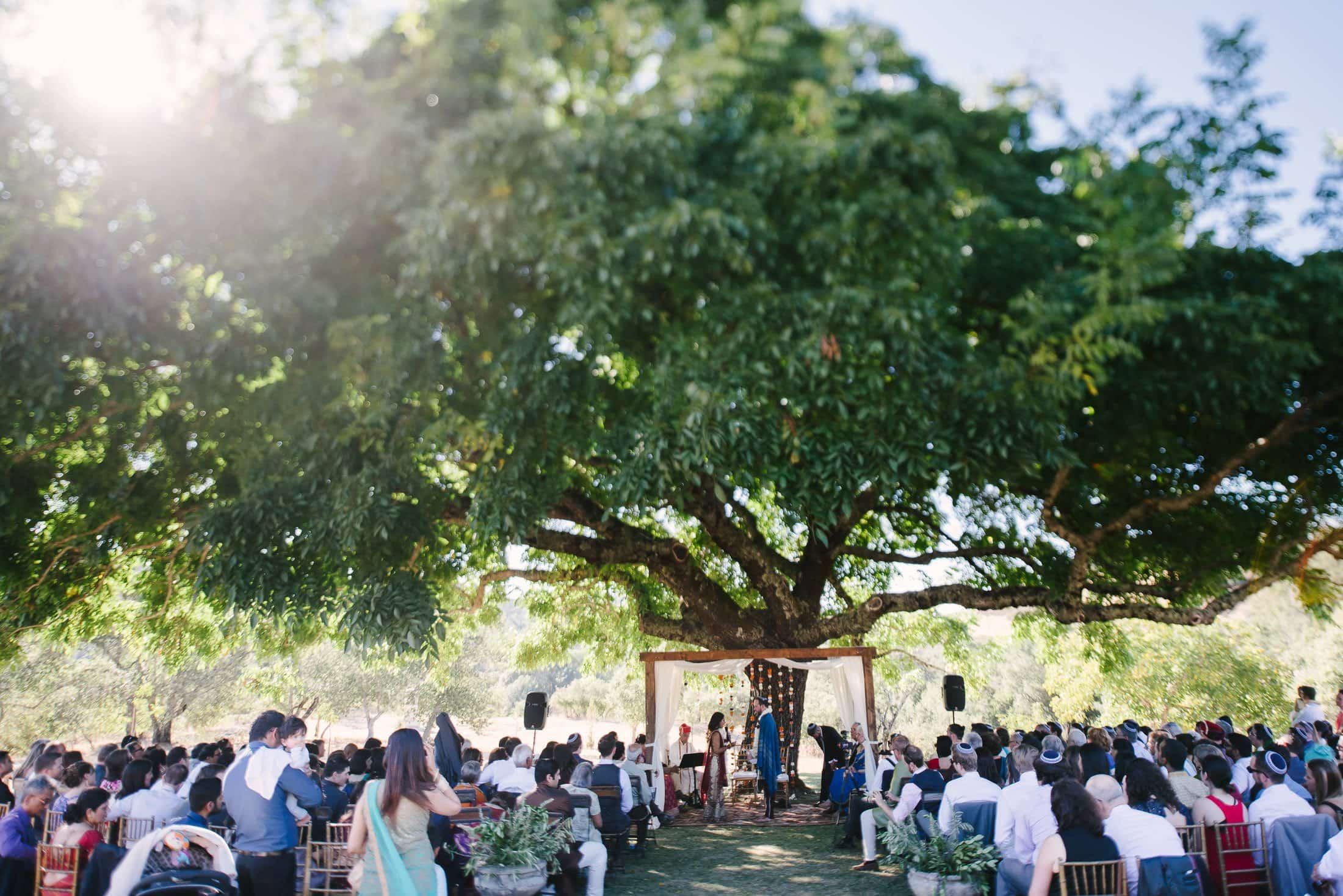 Indian Jewish SSS Ranch Wedding Ceremony