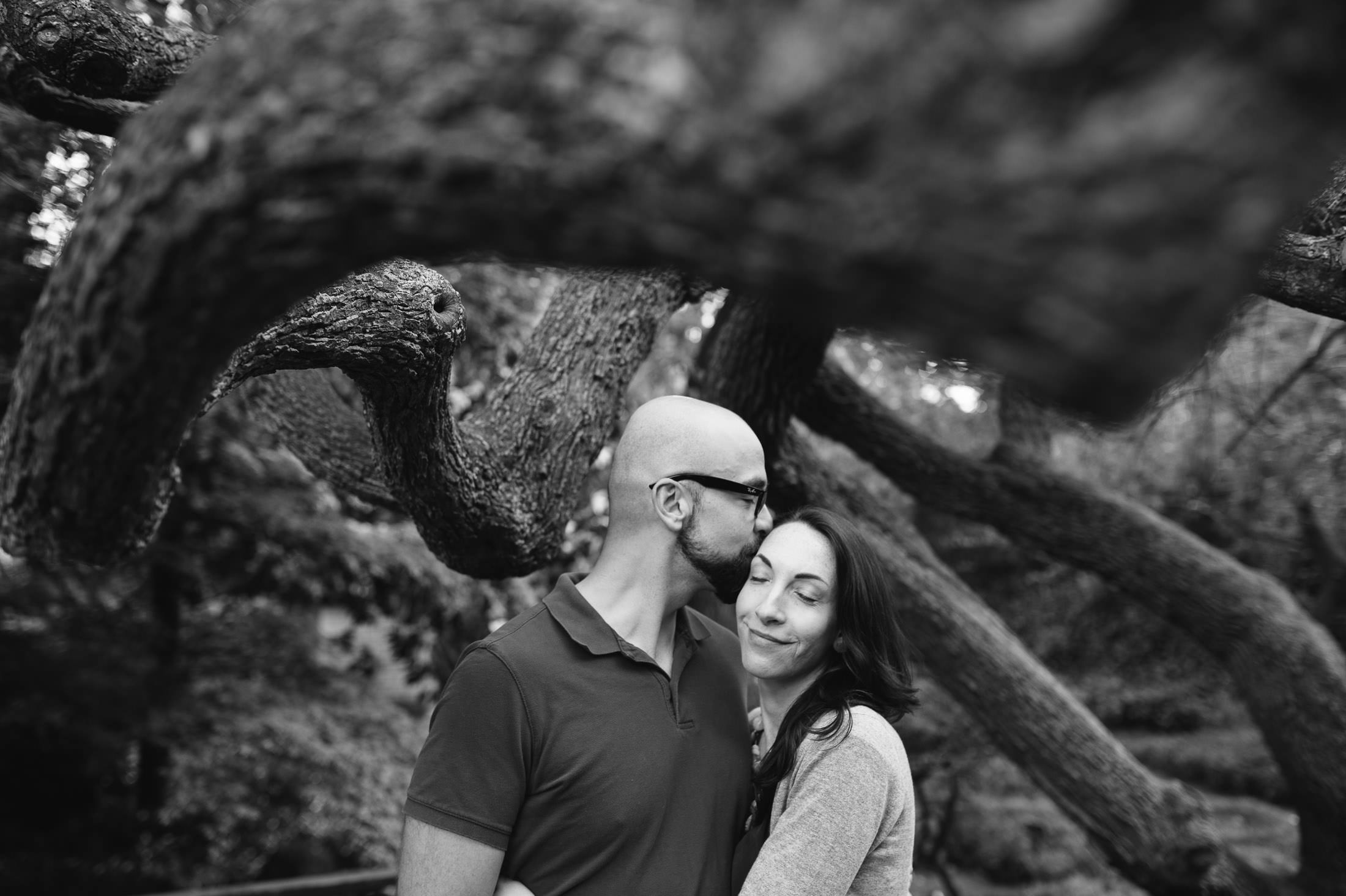 Artistic Engagement in san francisco at botanical gardens