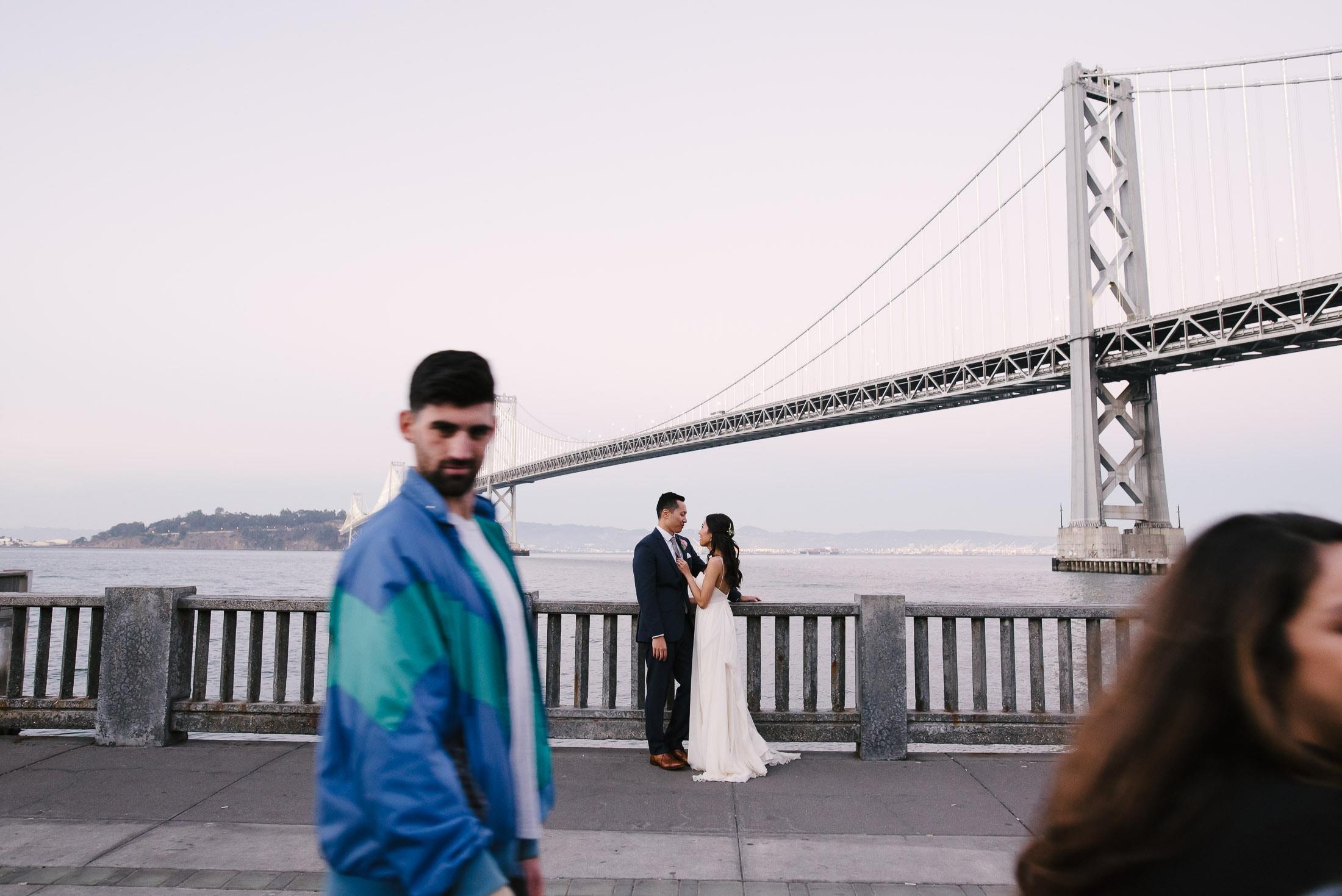 San Francisco Wedding Portrait