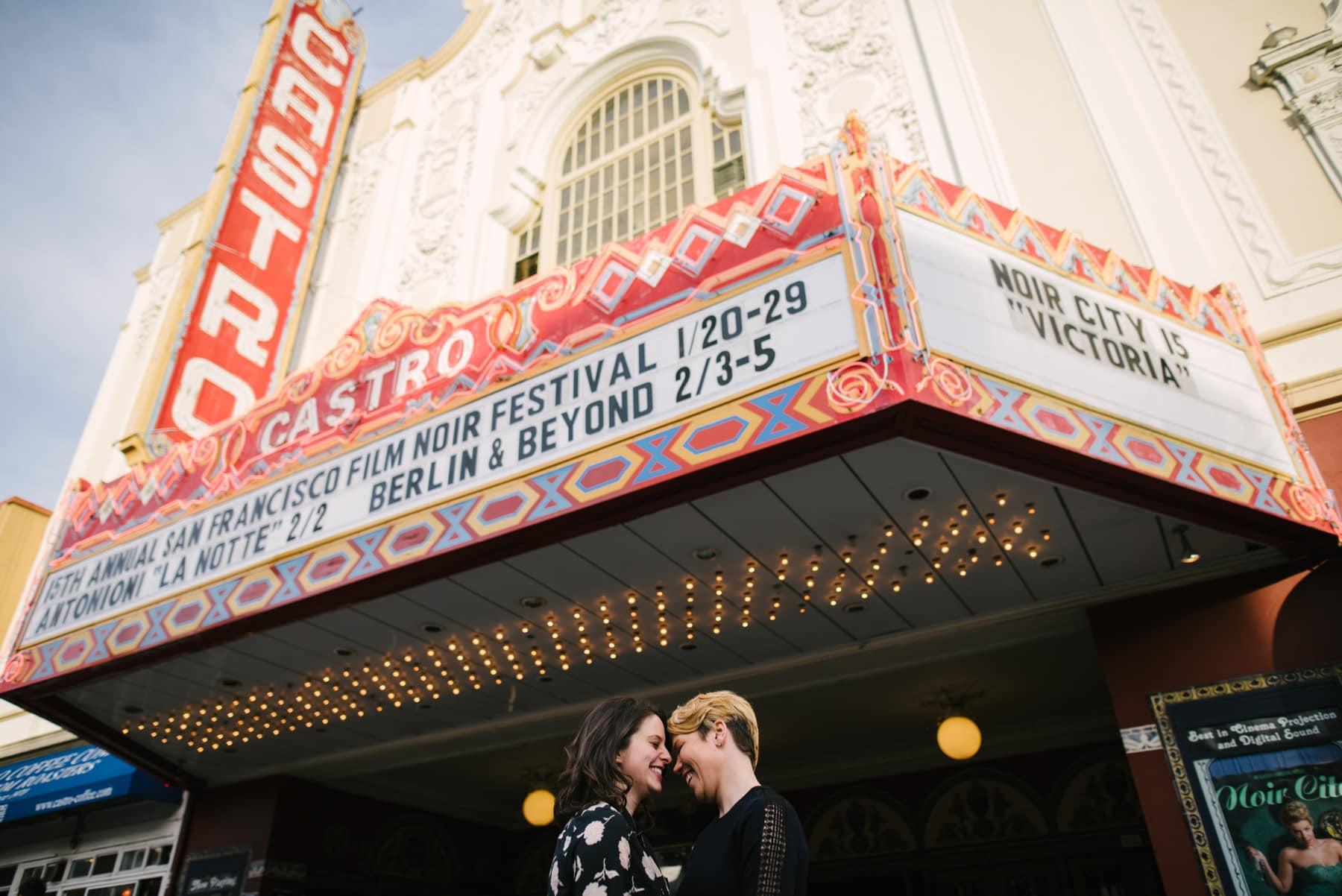 same sex couple engagement session san francisco