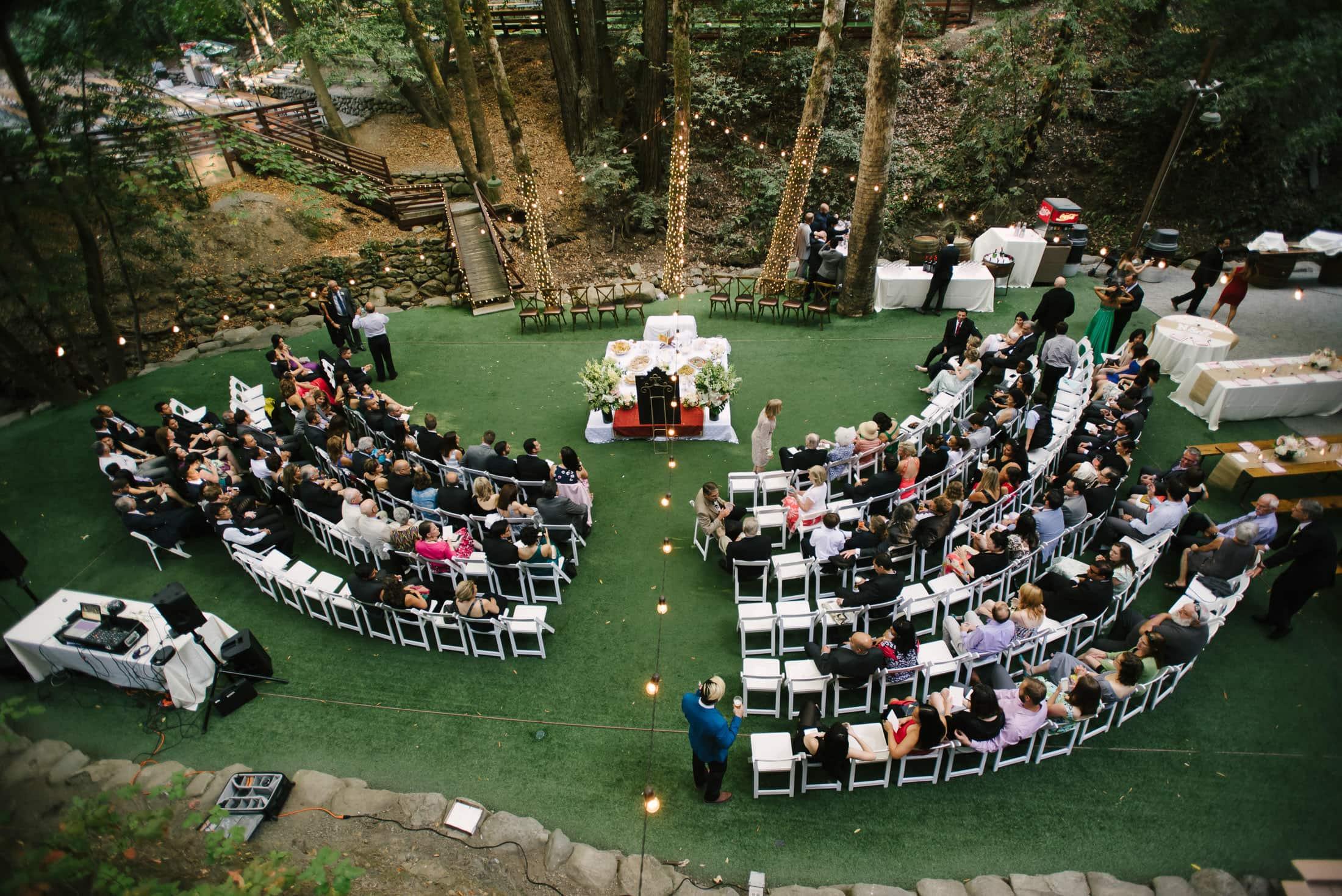persian wedding at saratoga springs picnic area