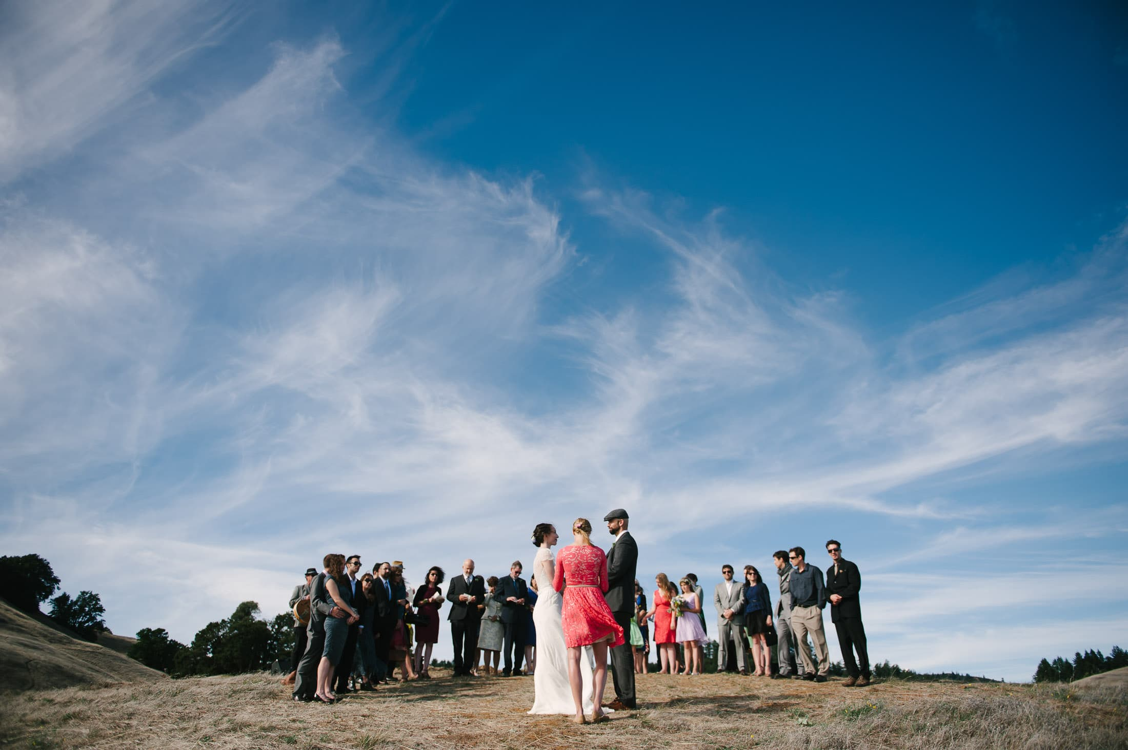 Trojan Point Wedding Ceremony