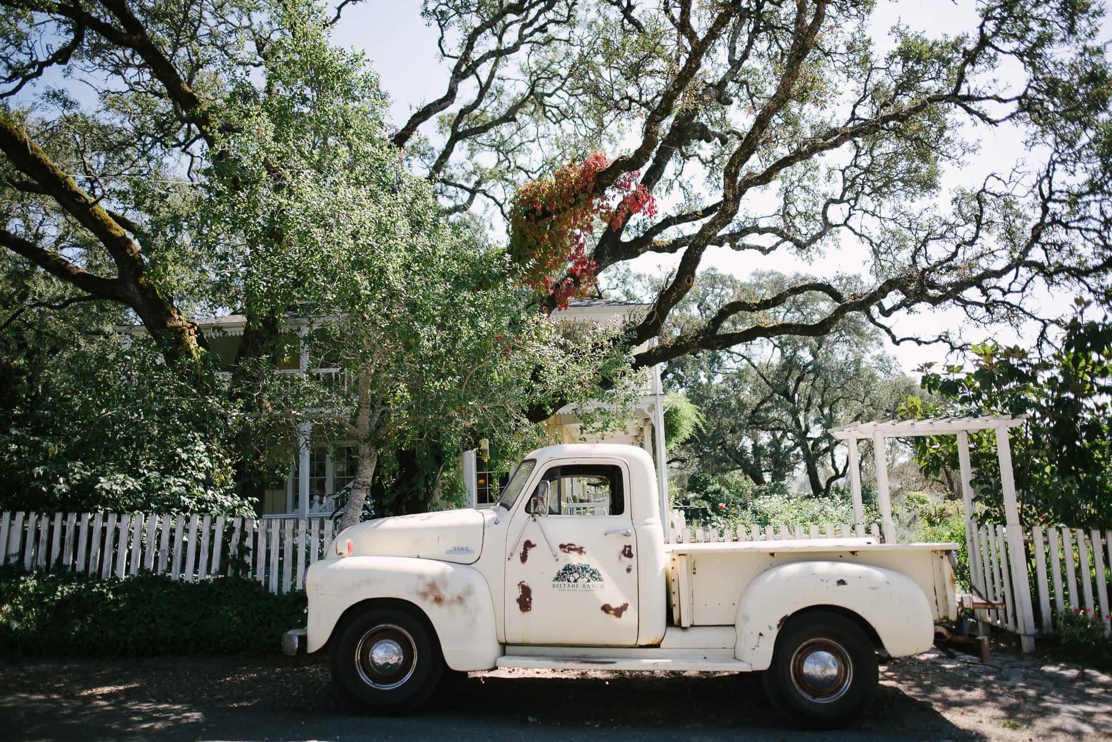 Beltane Ranch Wedding Truck